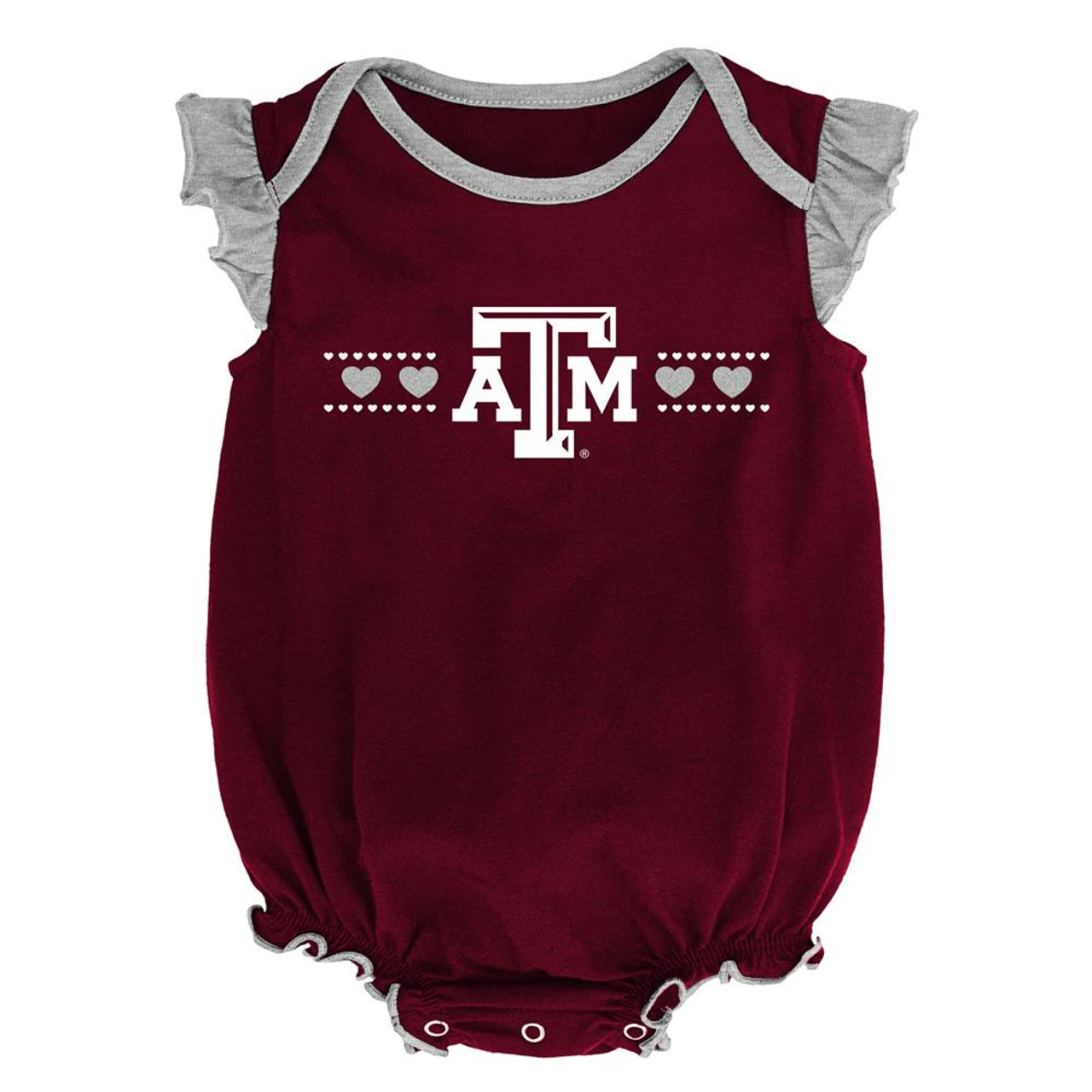 Texas A&M Aggies Creeper 2 Pack Homecoming Bodysuit Set