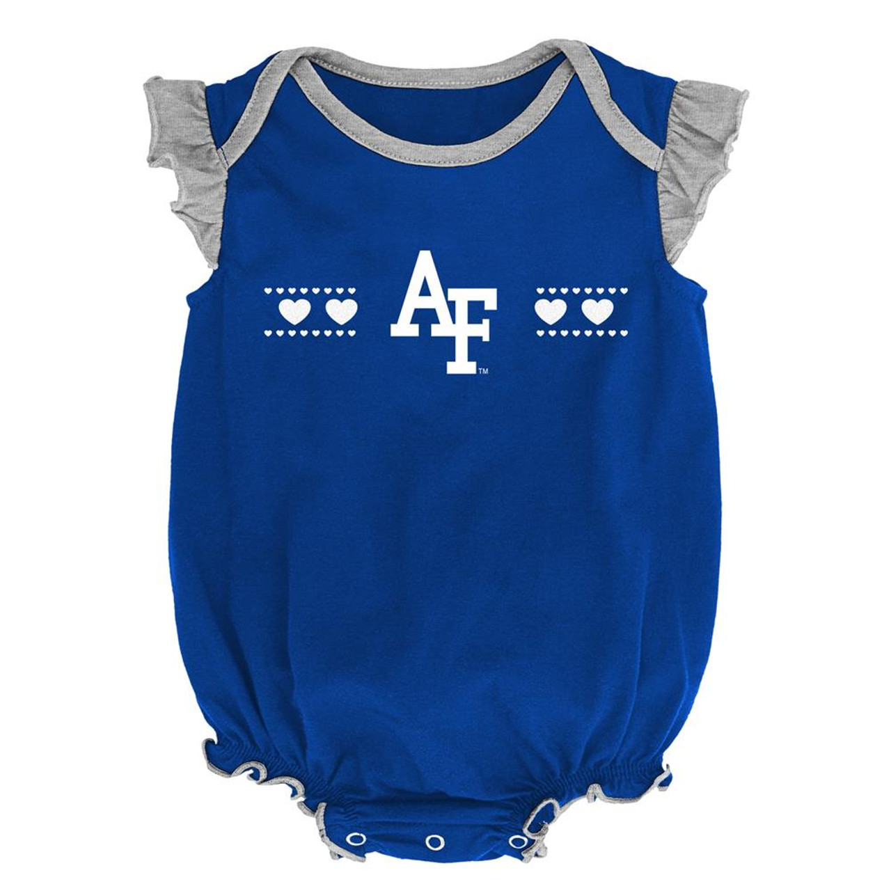 Air Force Academy Falcons Creeper 2 Pack Homecoming Bodysuit Set