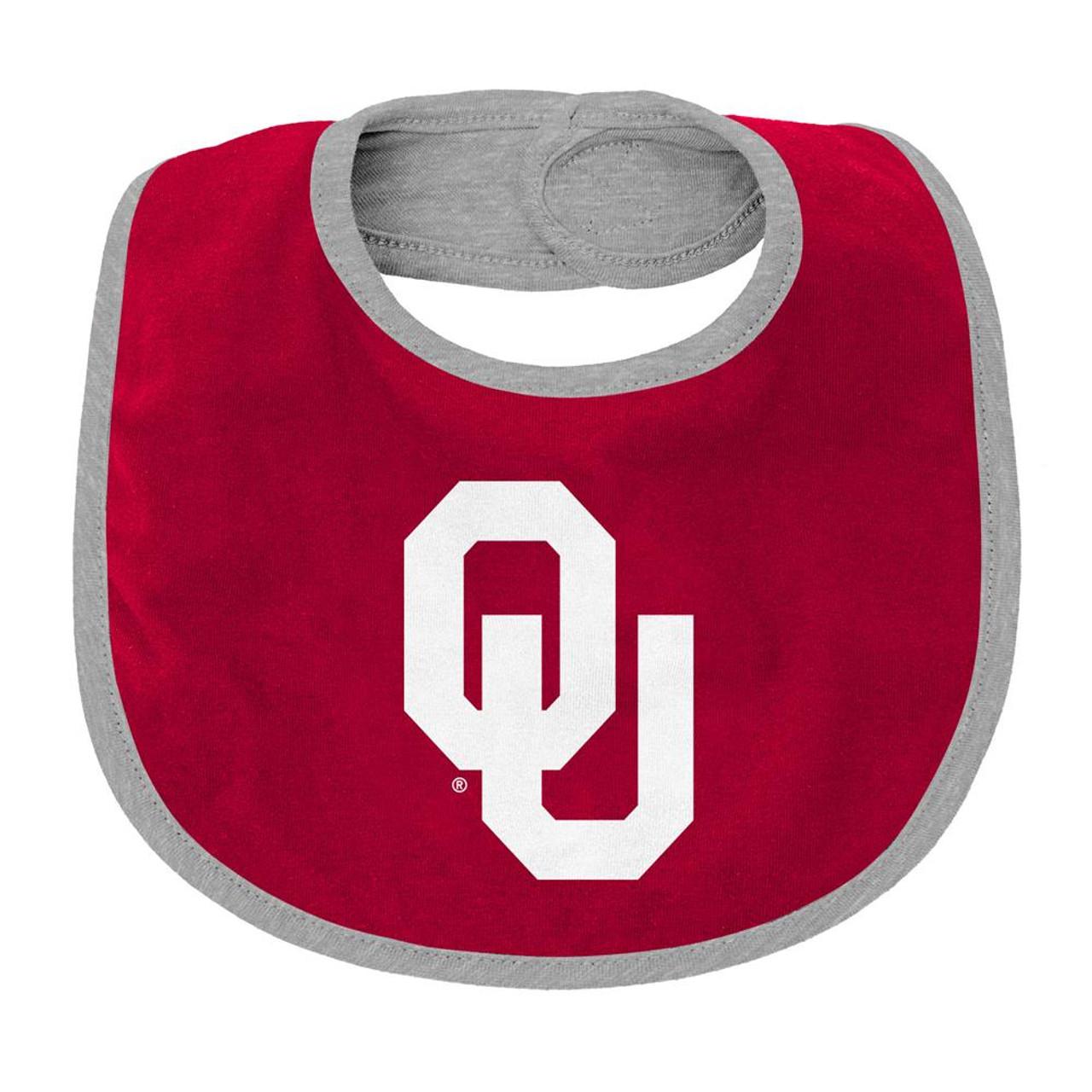 University of Oklahoma Sooners Creeper, Bib and Bootie Set Infant Set