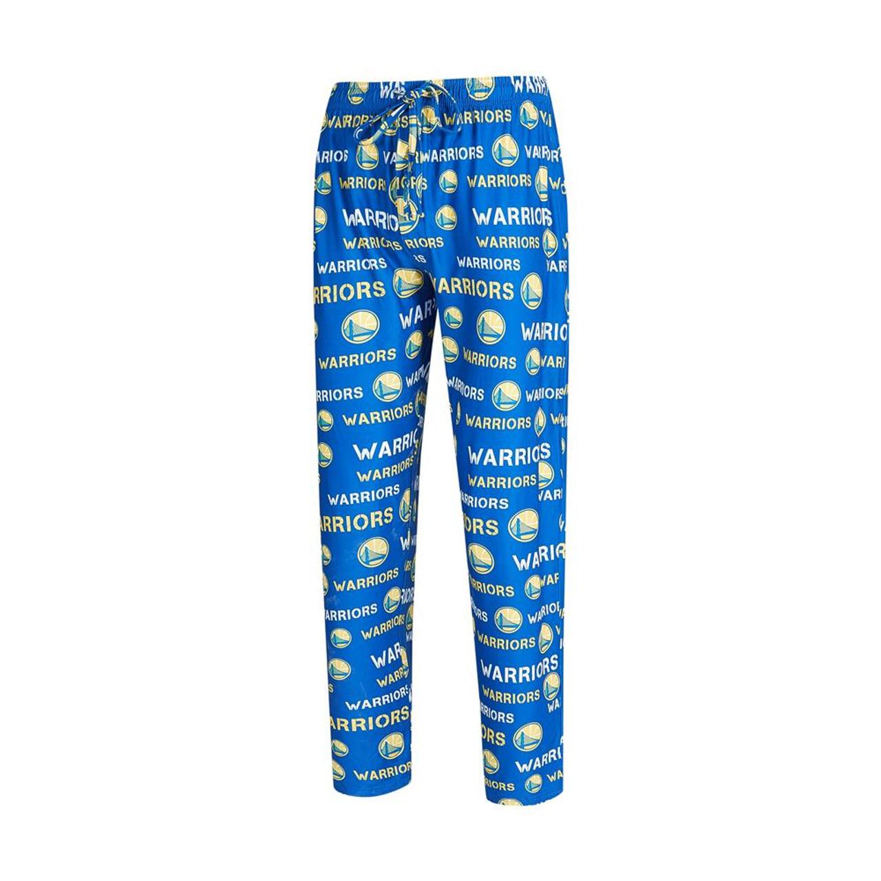 Golden State Warriors Men's Pajama Pants Midfield Sleep Pants