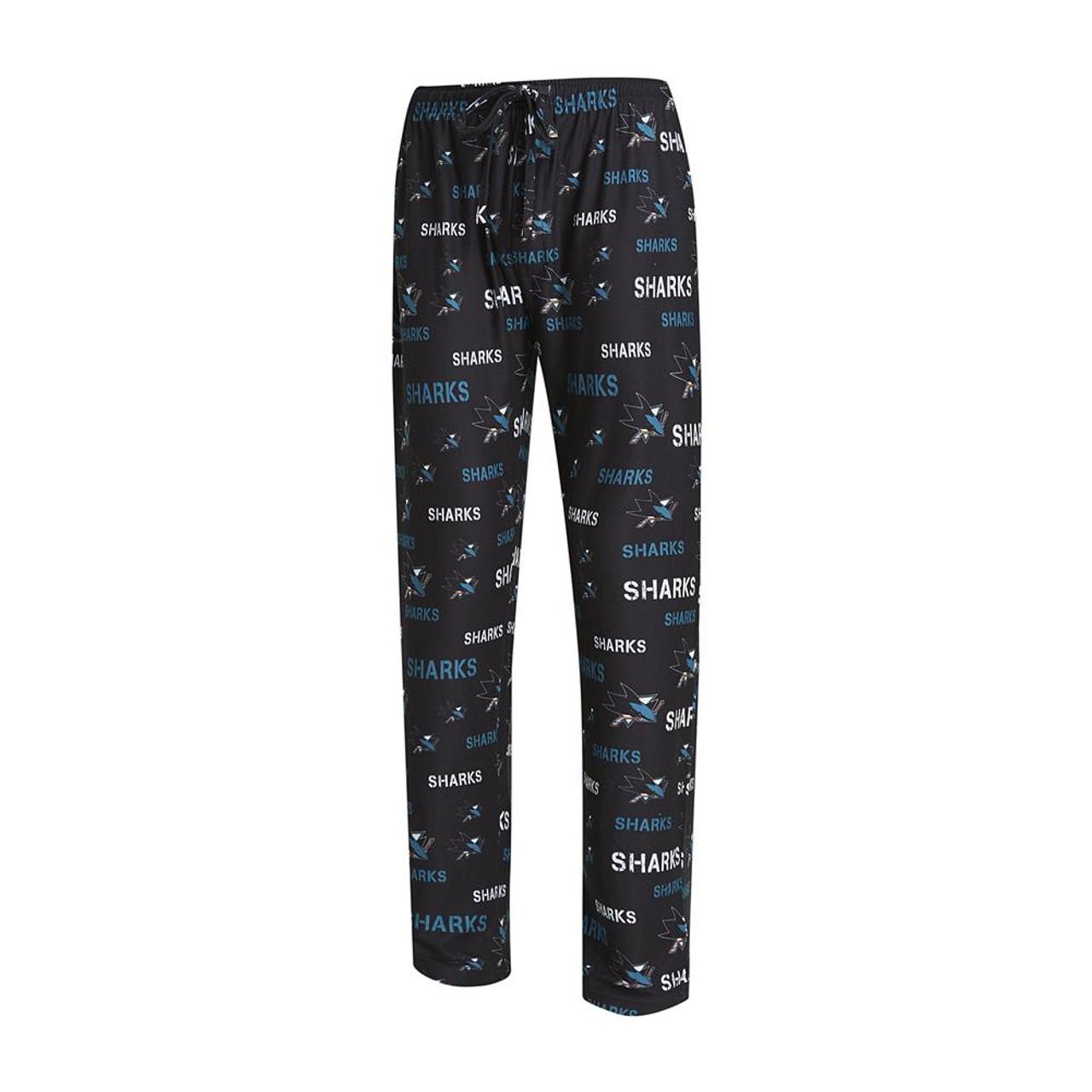 San Jose Sharks Men's Pajama Pants Midfield Sleep Pants