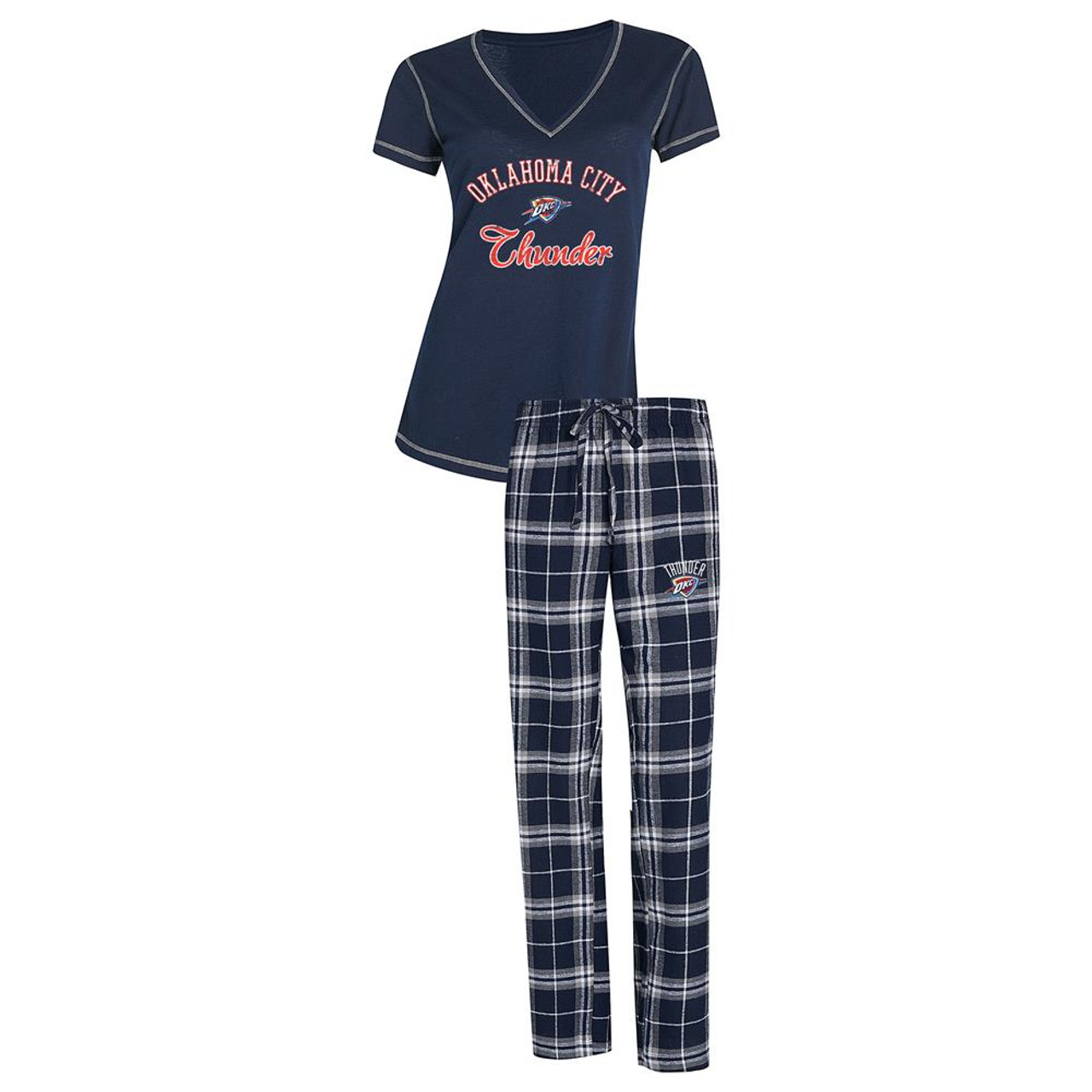 Oklahoma City Thunder Women's Pajama Set Duo Sleep Set