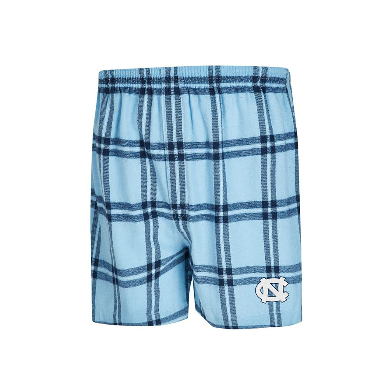 North Carolina Tarheels UNC Men's Boxers Flannel Boxer Shorts