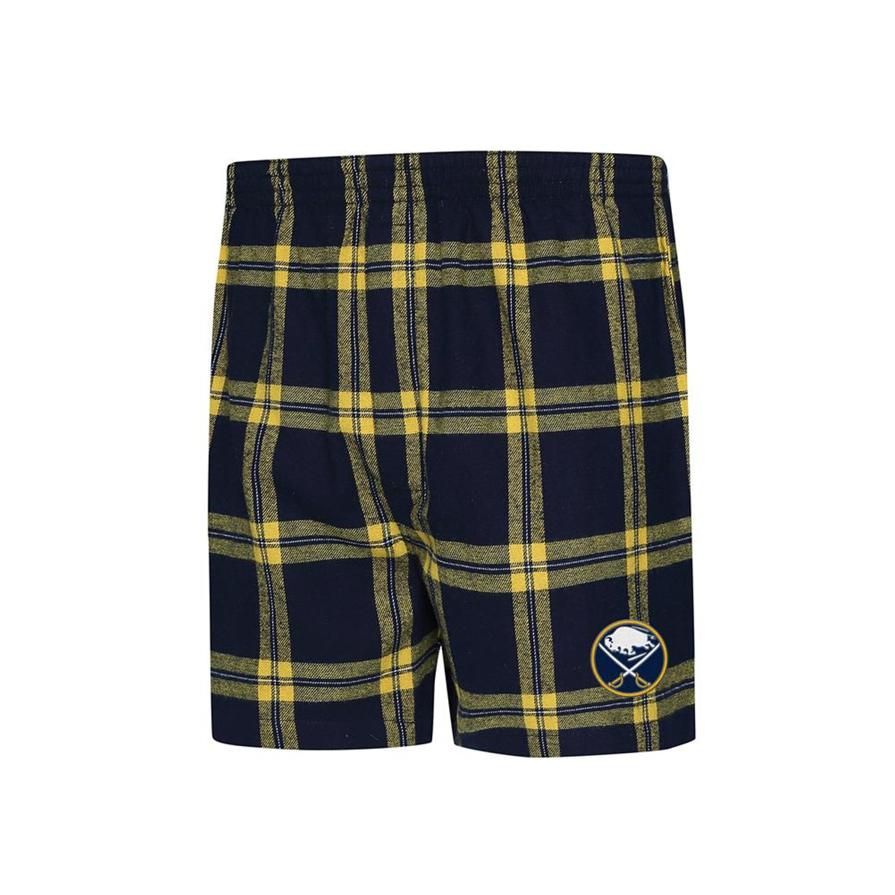 Concepts Sport Buffalo Sabres Mens Boxers Flannel Boxer Shorts