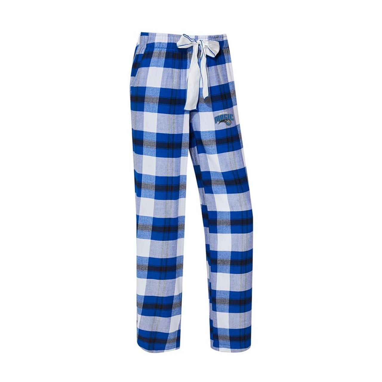 Orlando Magic Women's Flannel Pajamas Plaid PJ Bottoms