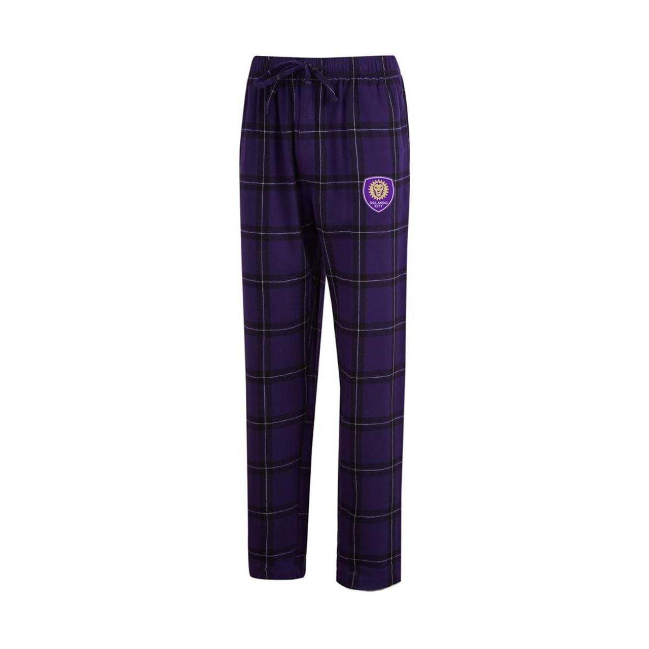 Orlando City SC Men's Pajama Pants Plaid Pajama Bottoms