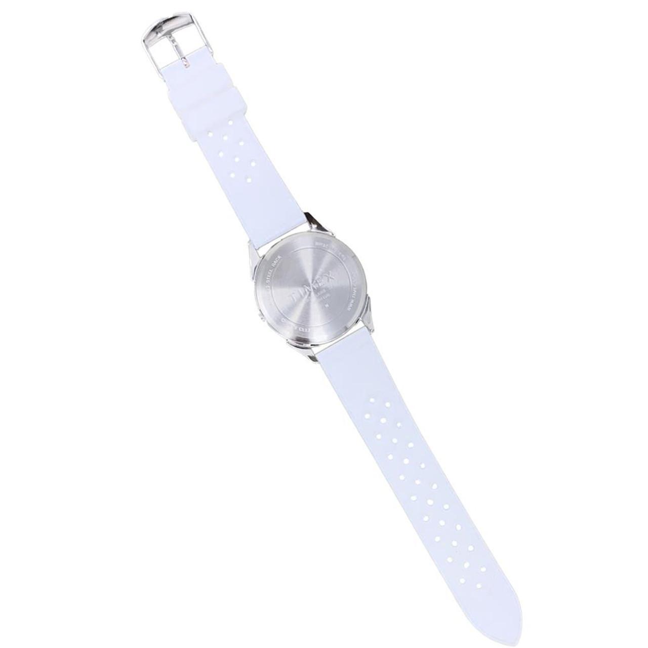 Buffalo Sabres Ladies Silcone Athena Timex Watch