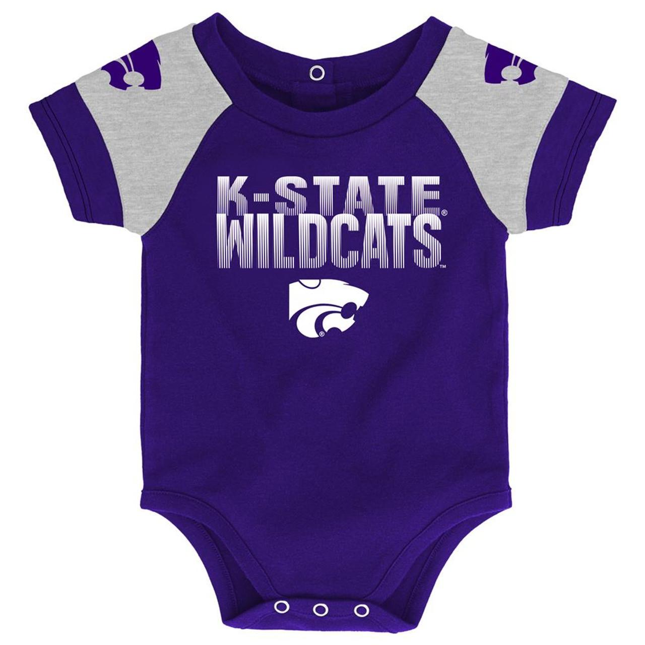 Infant Kansas State University Creeper Set Baby Snapsuit Set