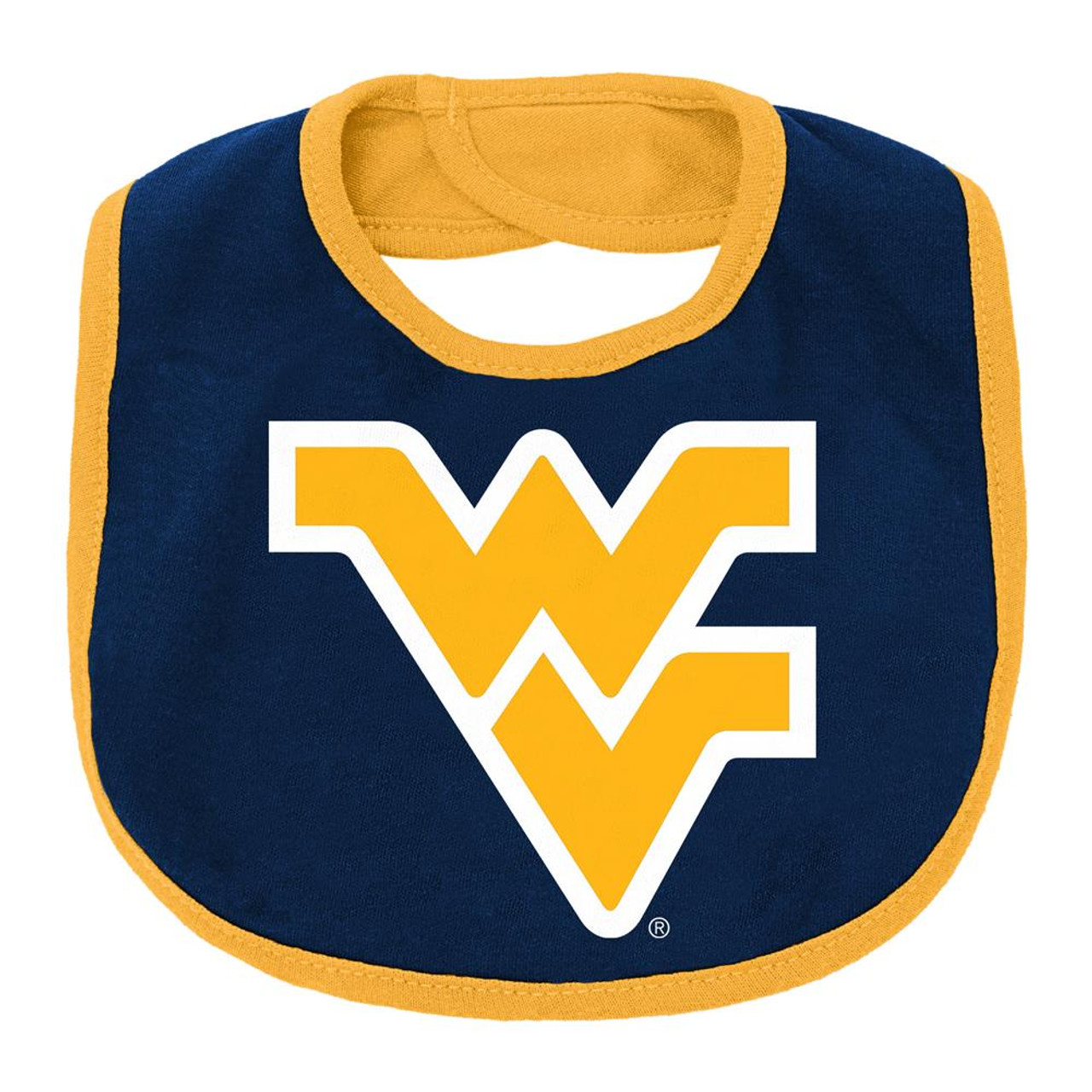 Infant West Virginia Mountaineers Creeper Set Baby Snapsuit Set