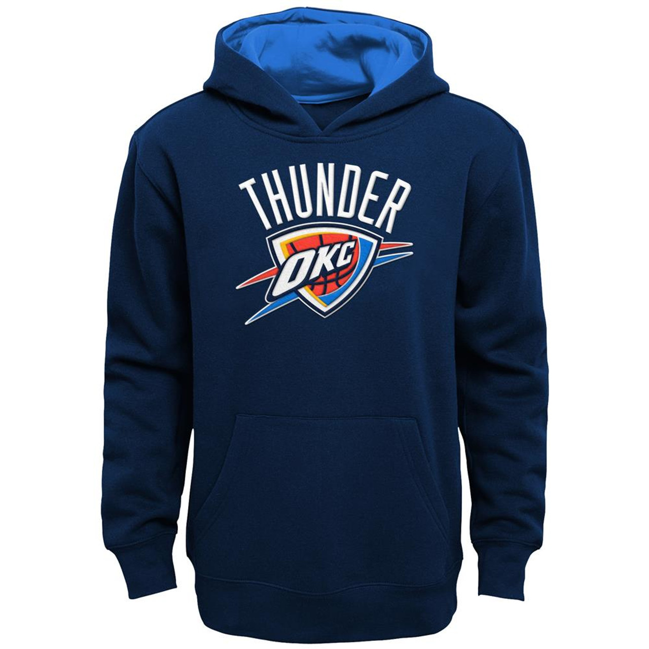 Youth Oklahoma City Thunder Hoodie Prime Pullover Fleece Hood