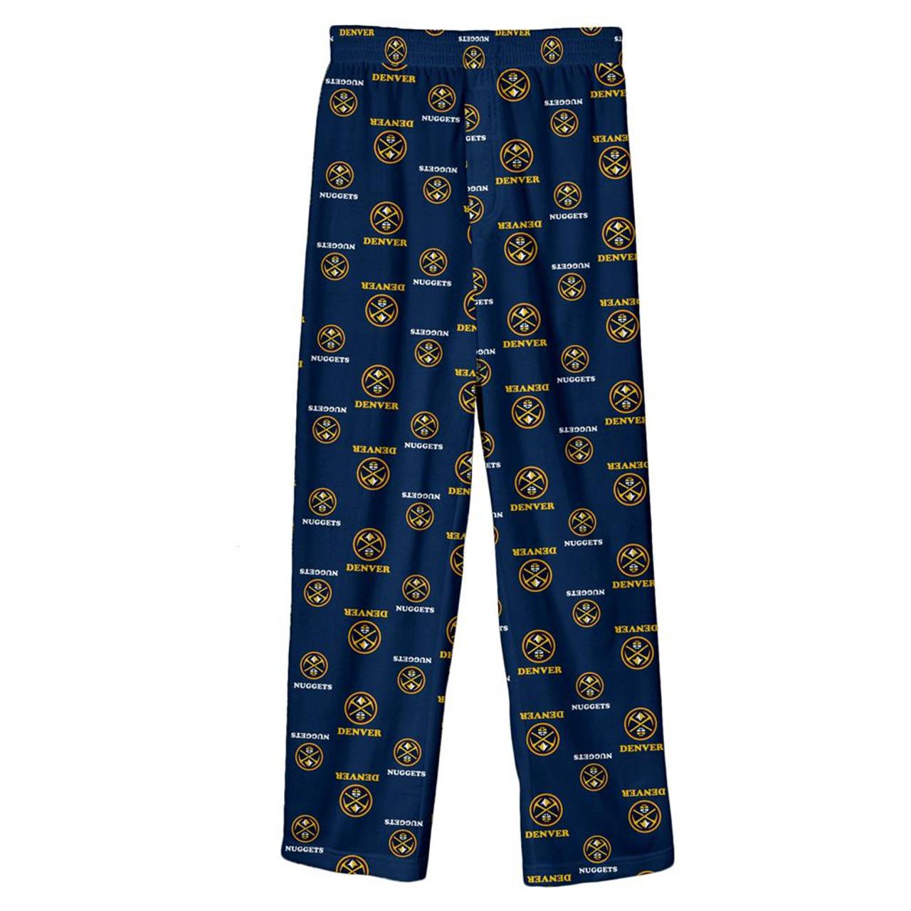 Youth Denver Nuggets Pajama Pant Boys Sleep Bottoms