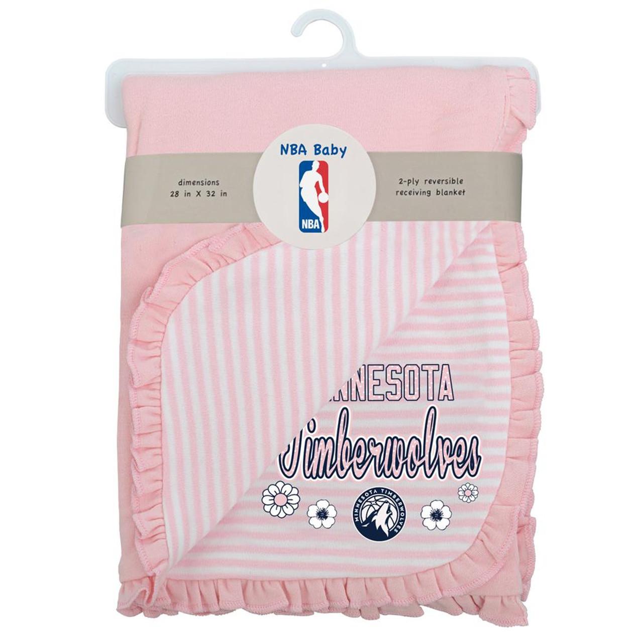 Minnesota Timberwolves Receiving Blanket Sweet Fan Swaddler