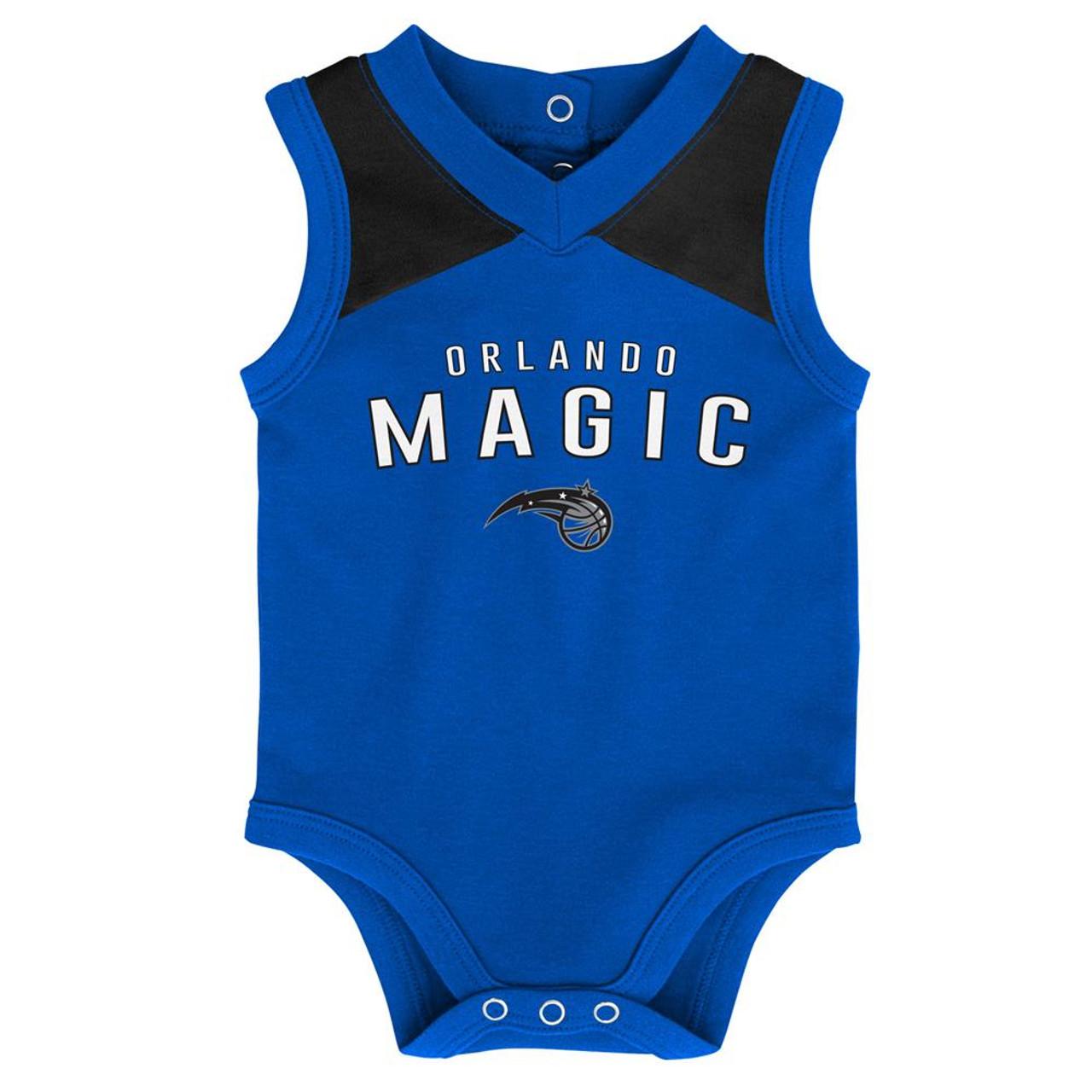 Infant Orlando Magic Creeper Set Baby Snapsuit Set