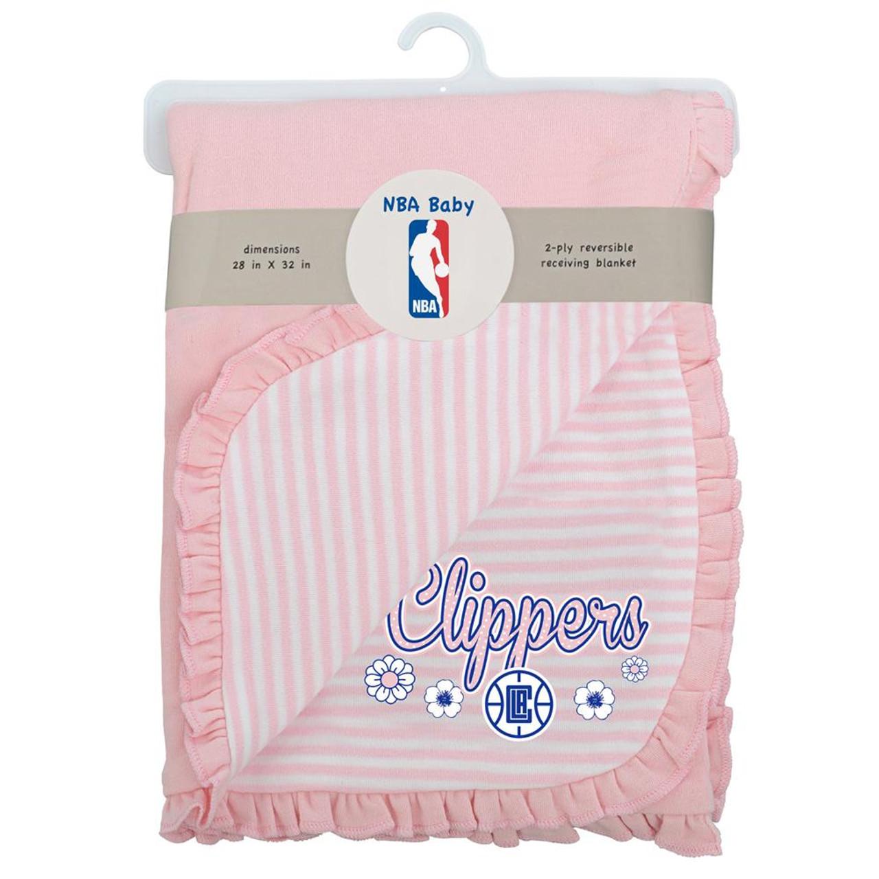 Los Angeles Clippers LA Receiving Blanket Sweet Fan Swaddler