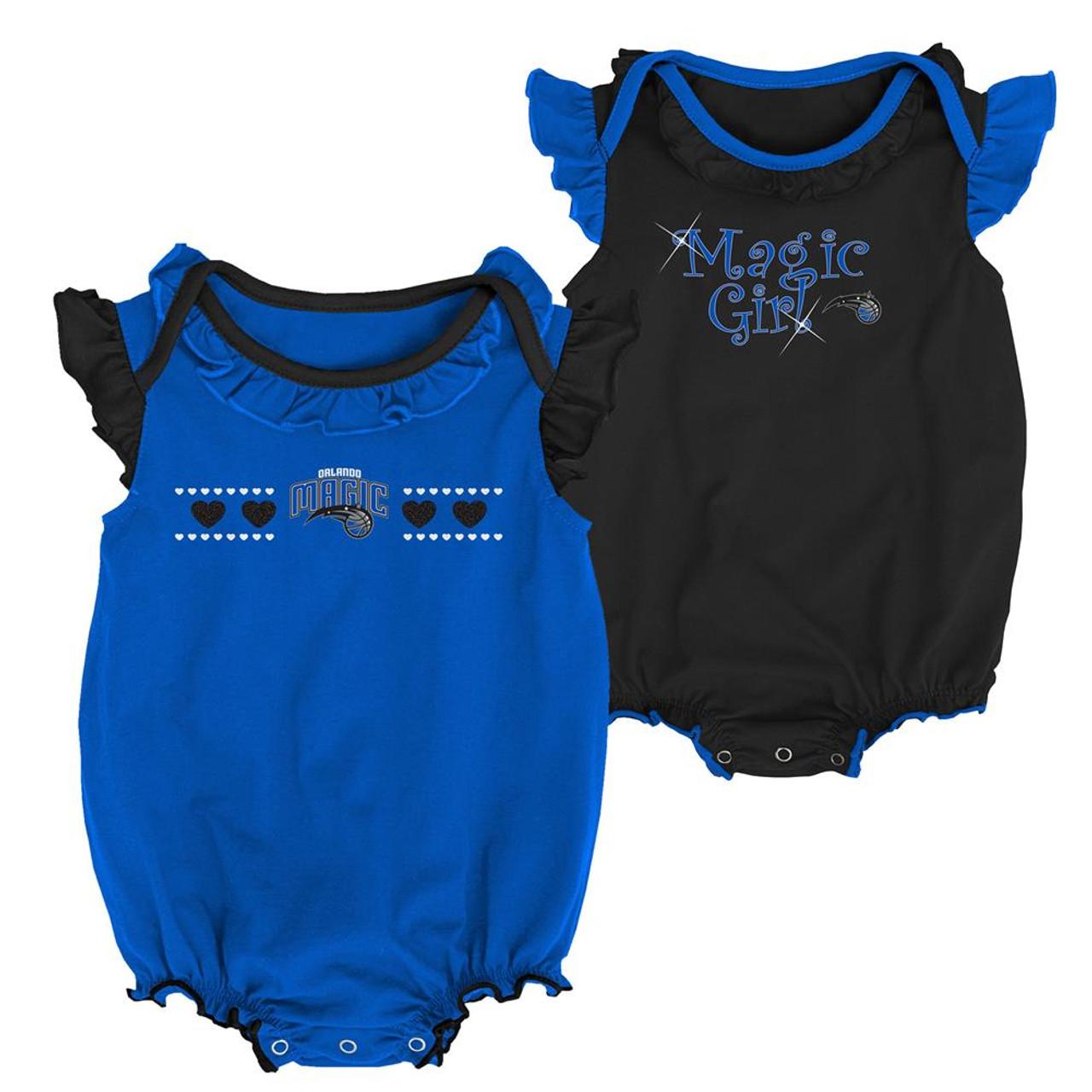 Orlando Magic Creeper 2 Pack Homecoming Bodysuit Set