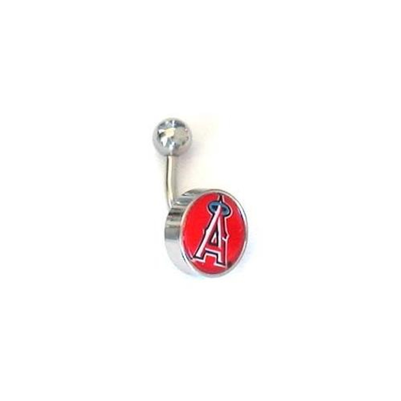 Los Angeles Angels LA Belly Button Ring Naval Body