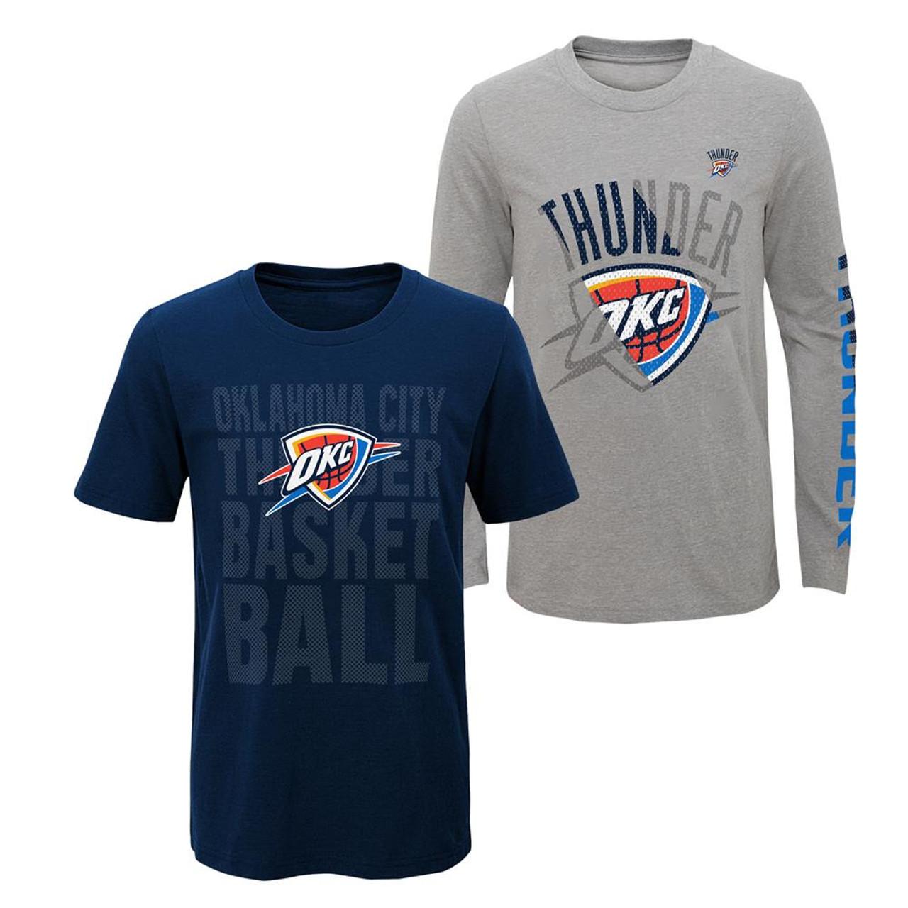 Youth Boys Oklahoma City Thunder Tee Shirt 3 in 1 Combo Set