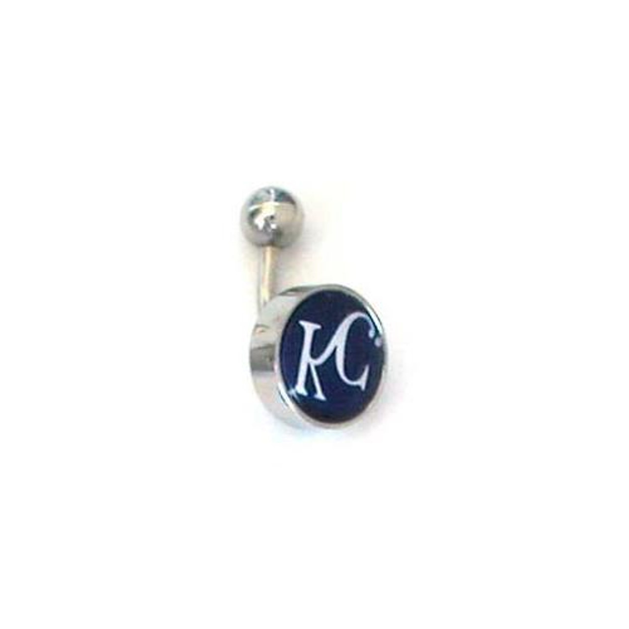Kansas City Royals Belly Button Ring Naval Body