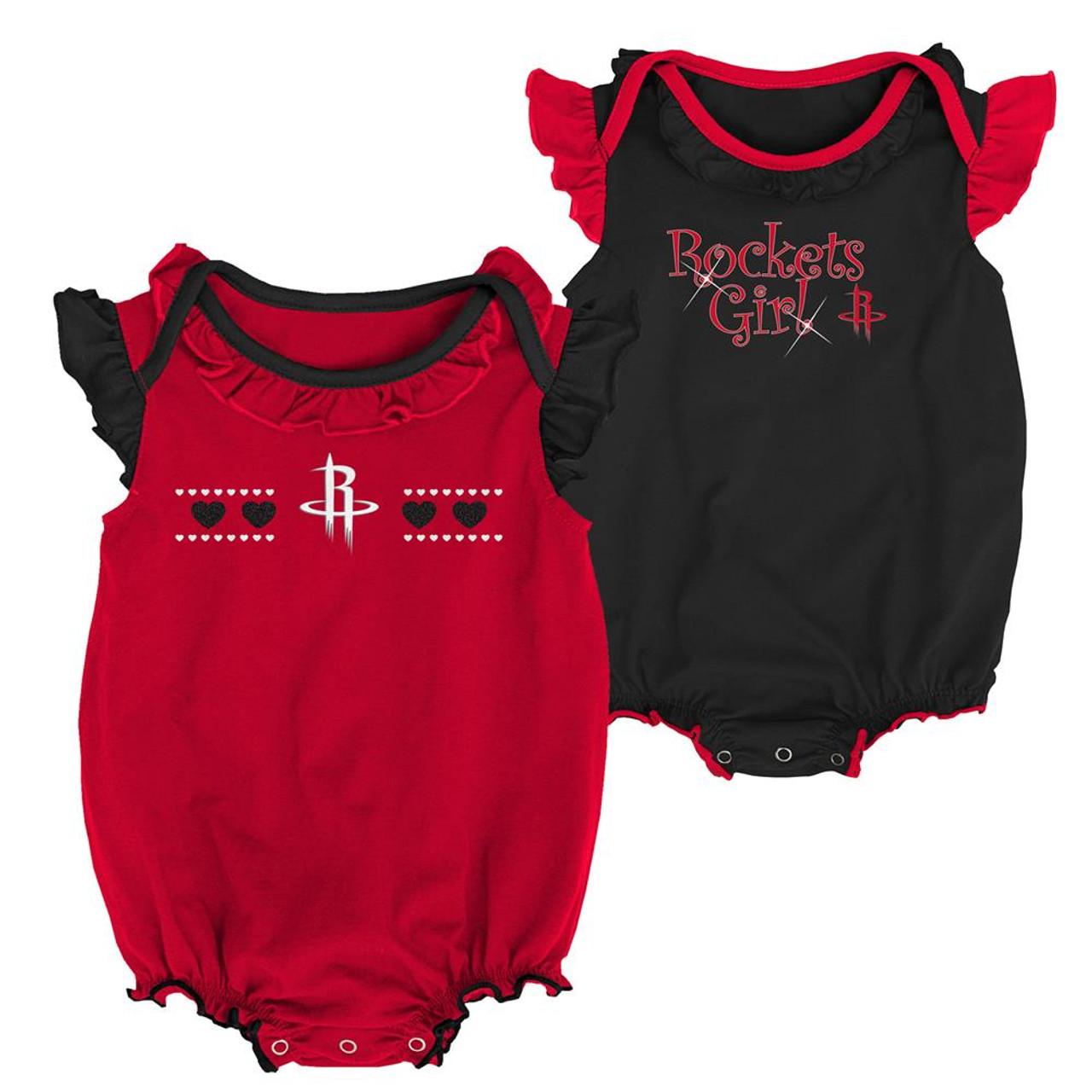 Houston Rockets Creeper 2 Pack Homecoming Bodysuit Set