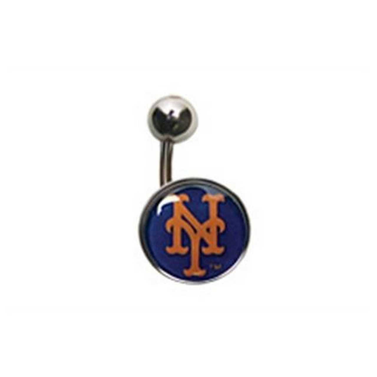 New York Mets NY Belly Button Ring Naval Body