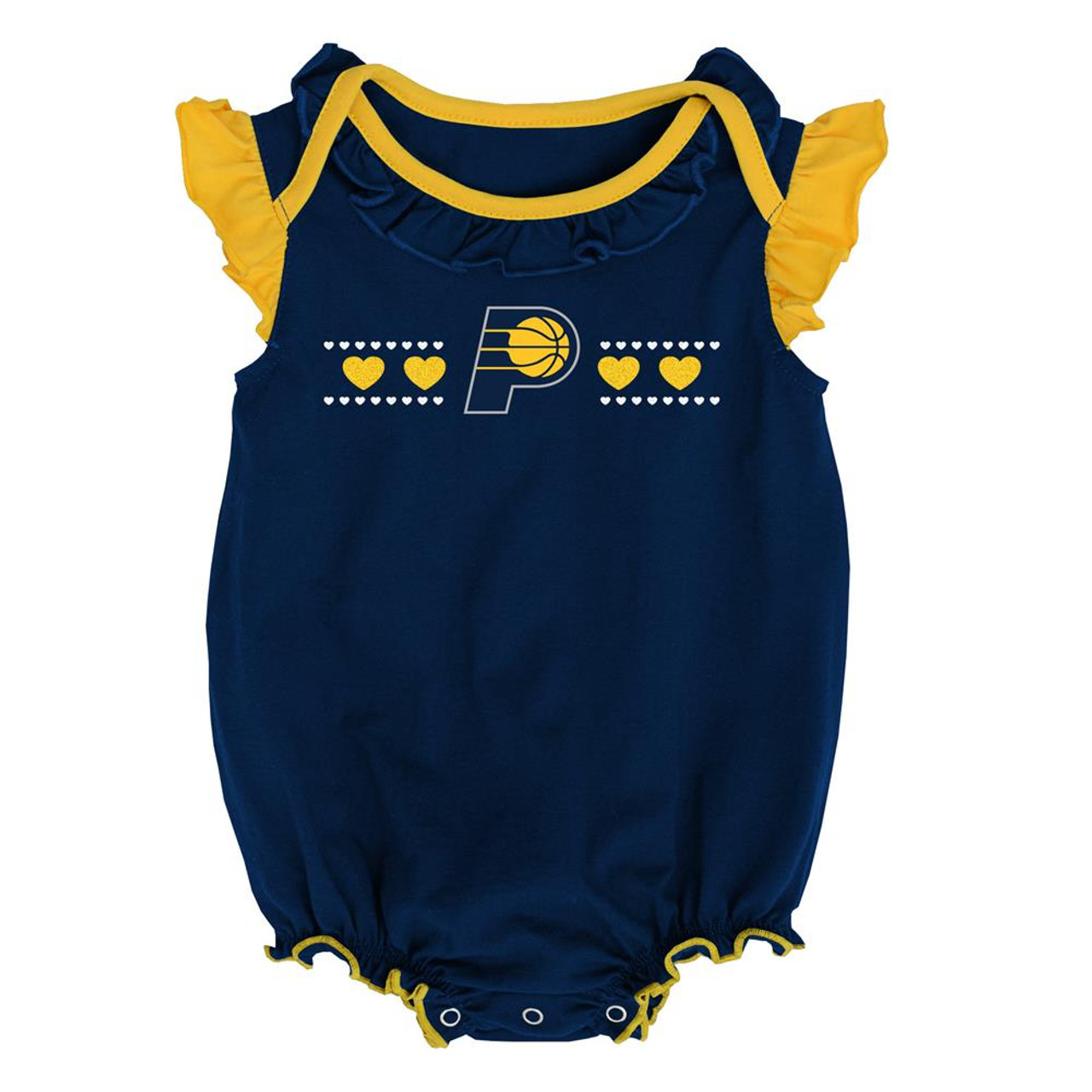 Indiana Pacers Creeper 2 Pack Homecoming Bodysuit Set