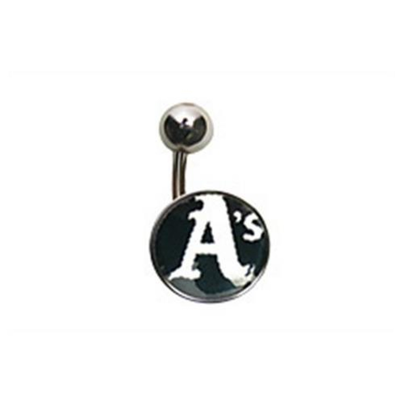 Oakland Athletics Belly Button Ring Naval Body