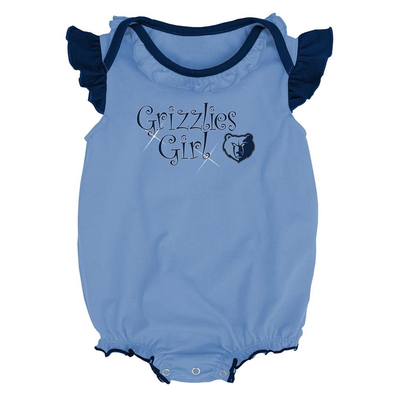 Memphis Grizzlies Creeper 2 Pack Homecoming Bodysuit Set