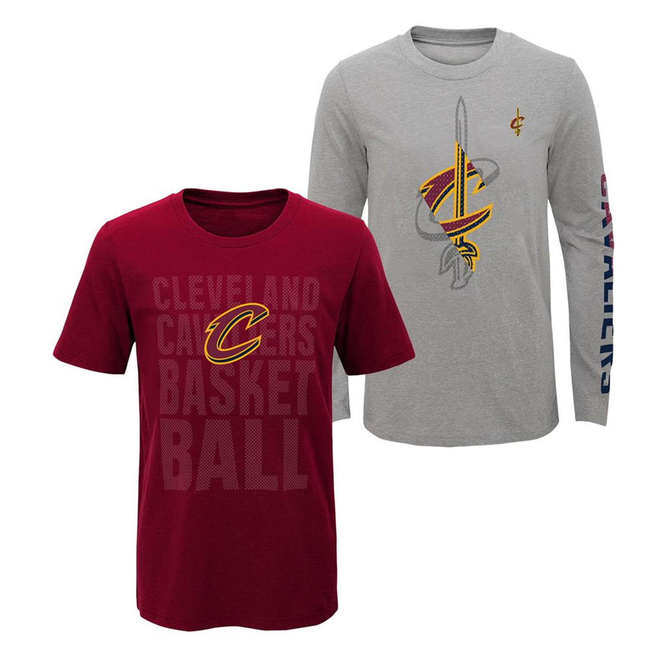 Youth Boys Cleveland Cavaliers Tee Shirt 3 in 1 Combo Set