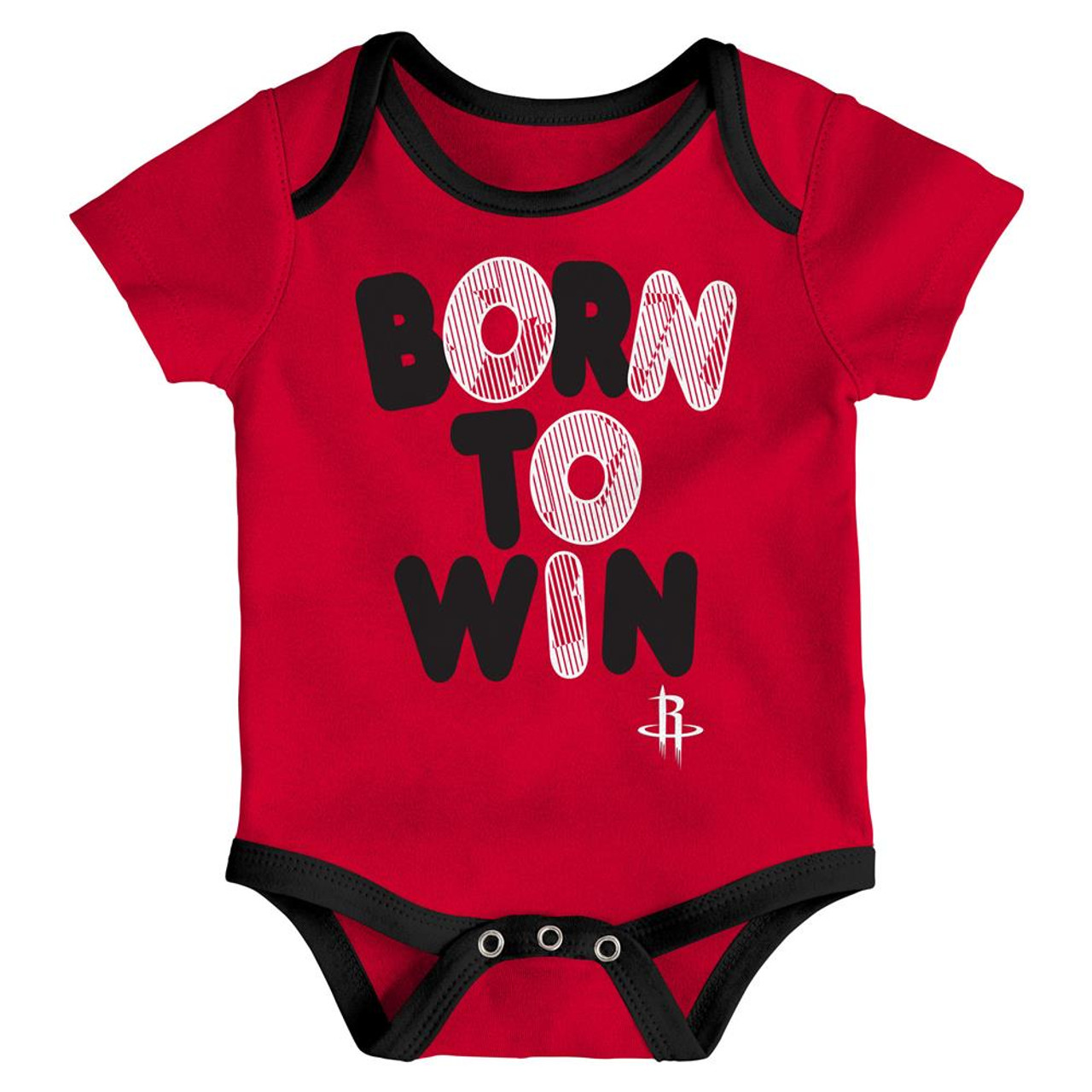 Houston Rockets Infant Creeper Set Lil Tailgater 3 Pack
