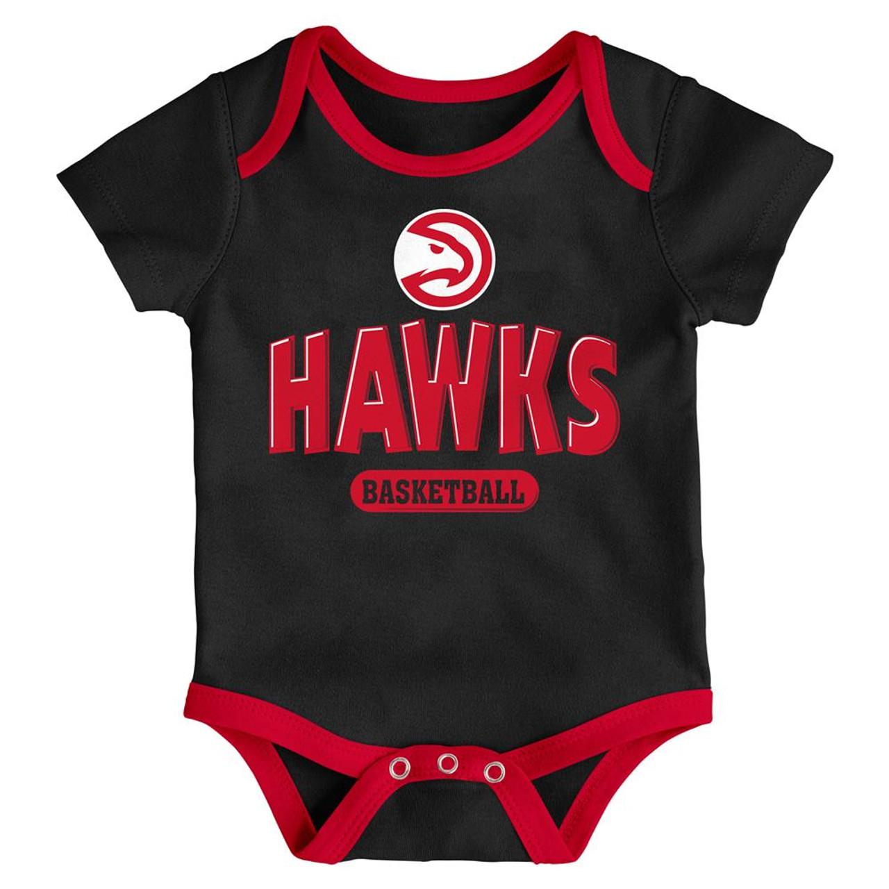 Atlanta Hawks Infant Creeper Set Lil Tailgater 3 Pack