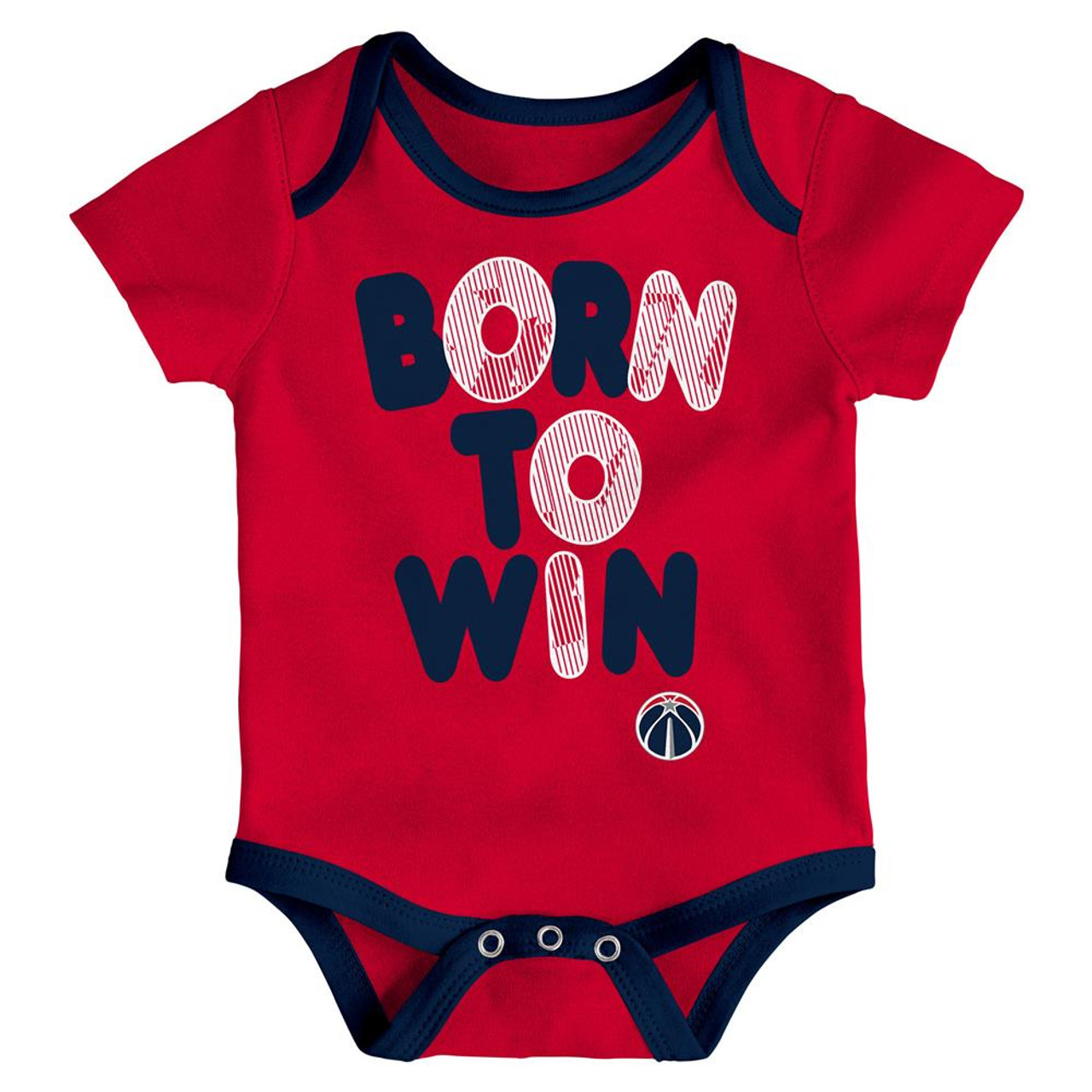 Washington Wizards Infant Creeper Set Lil Tailgater 3 Pack