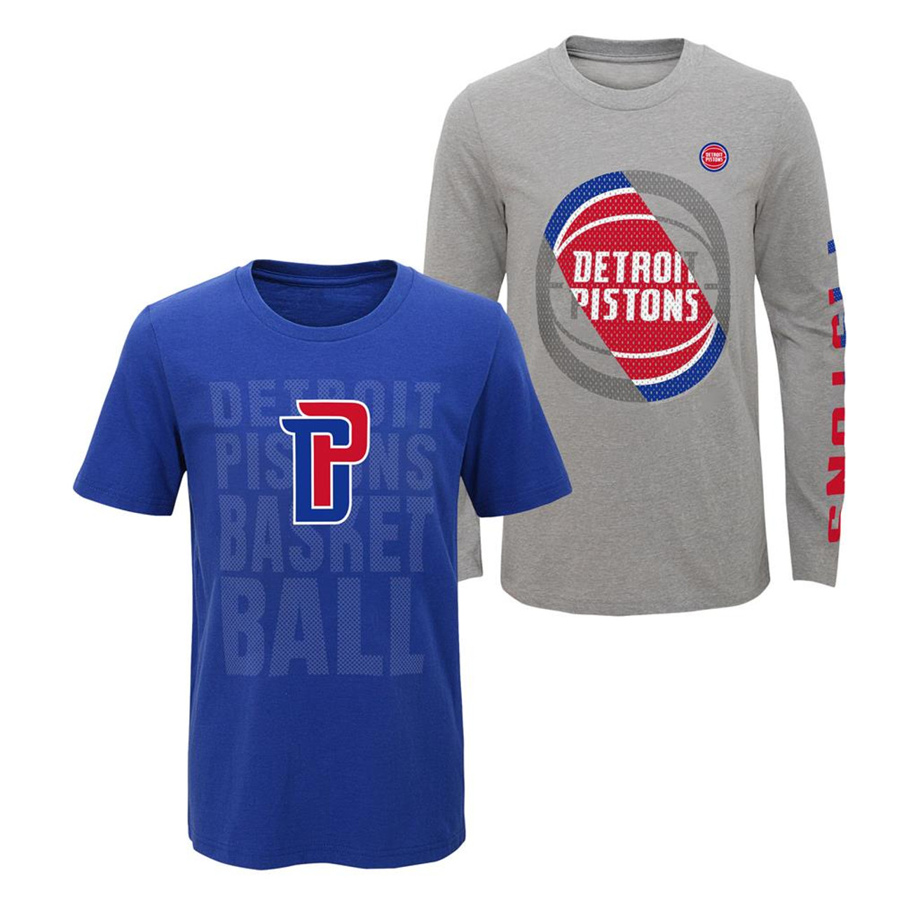 Youth Boys Detroit Pistons Tee Shirt 3 in 1 Combo Set