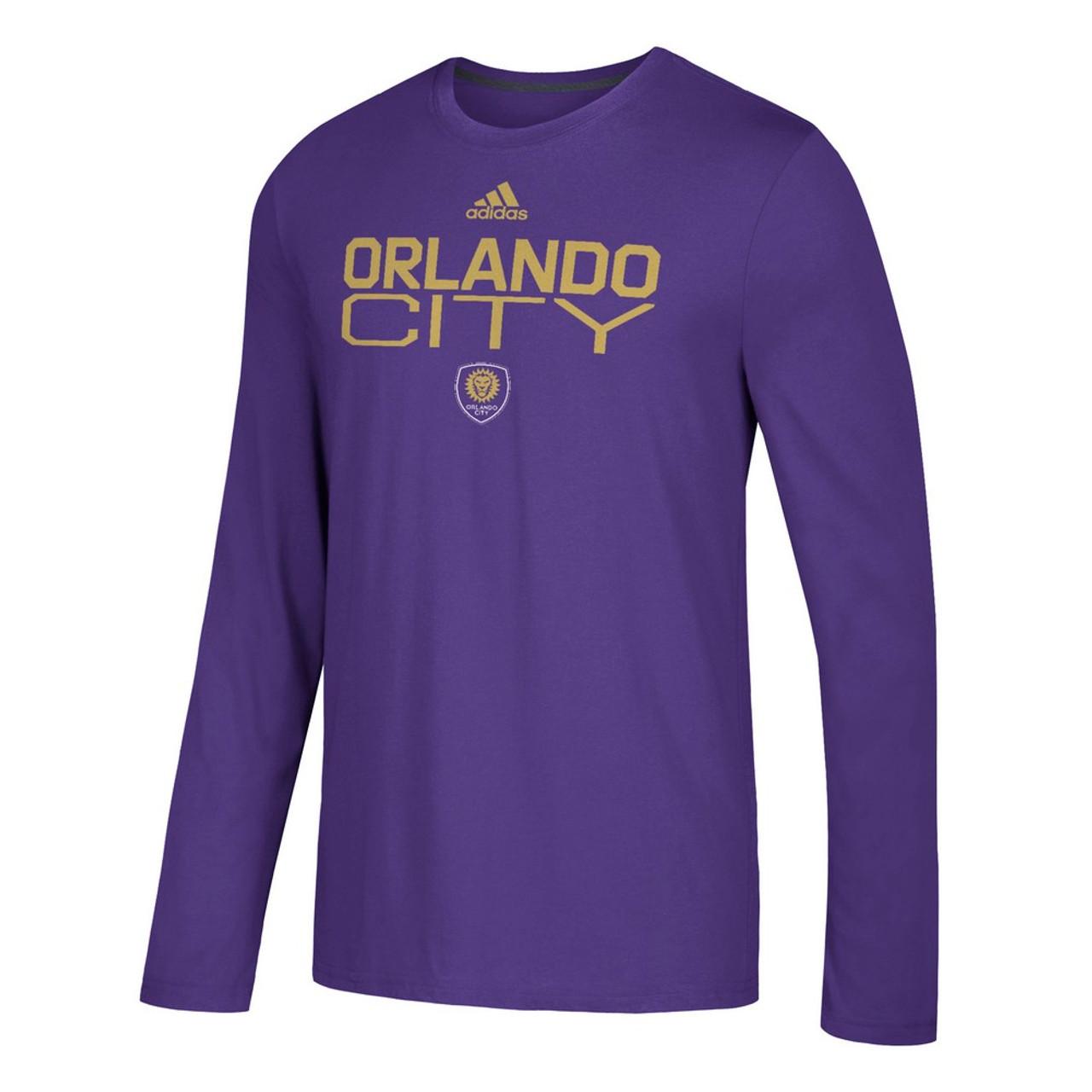 Men's Orlando City SC Adidas Official Locker Room LS Tee