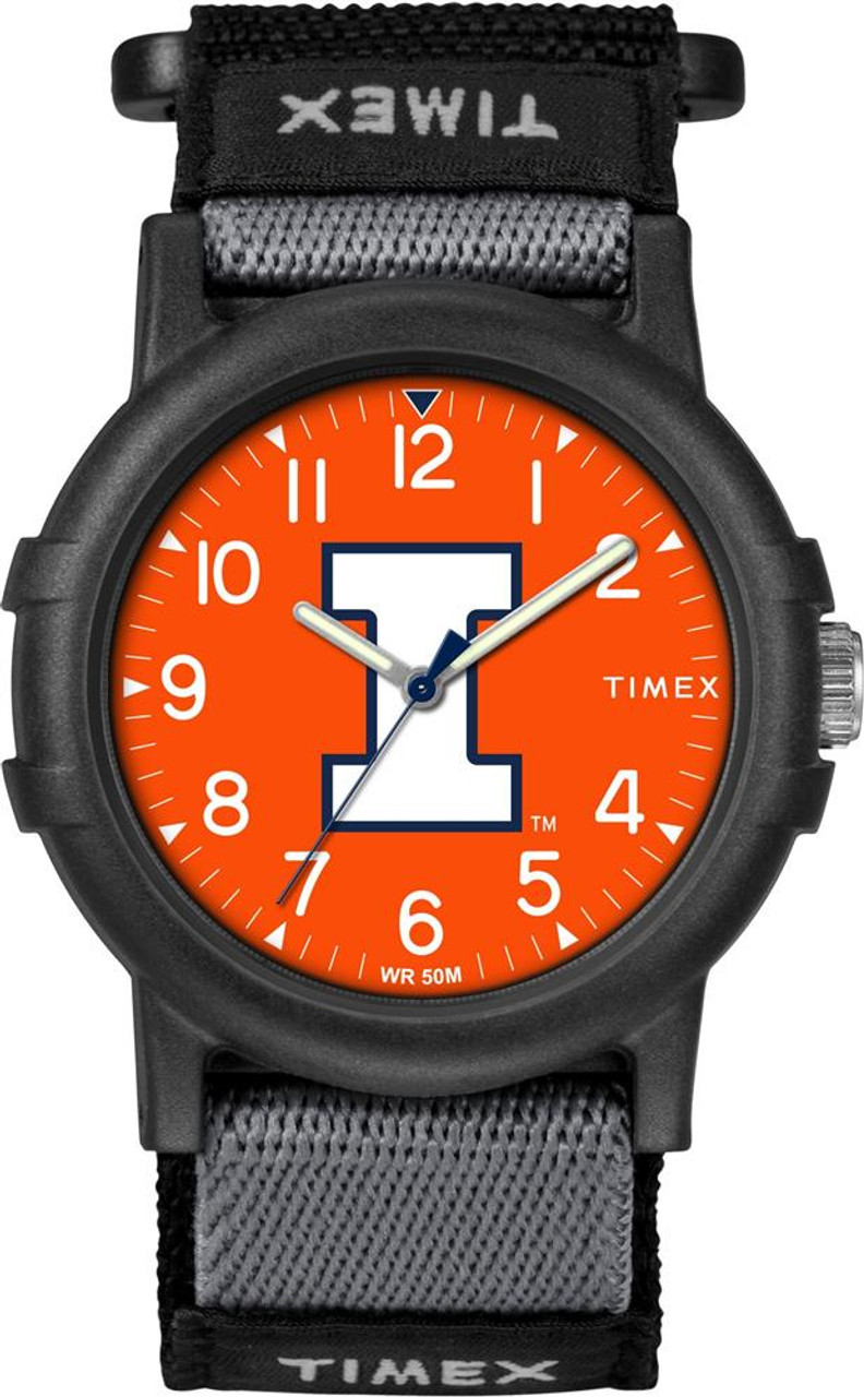 University of Illinois Youth FastWrap Recruit Timex Watch