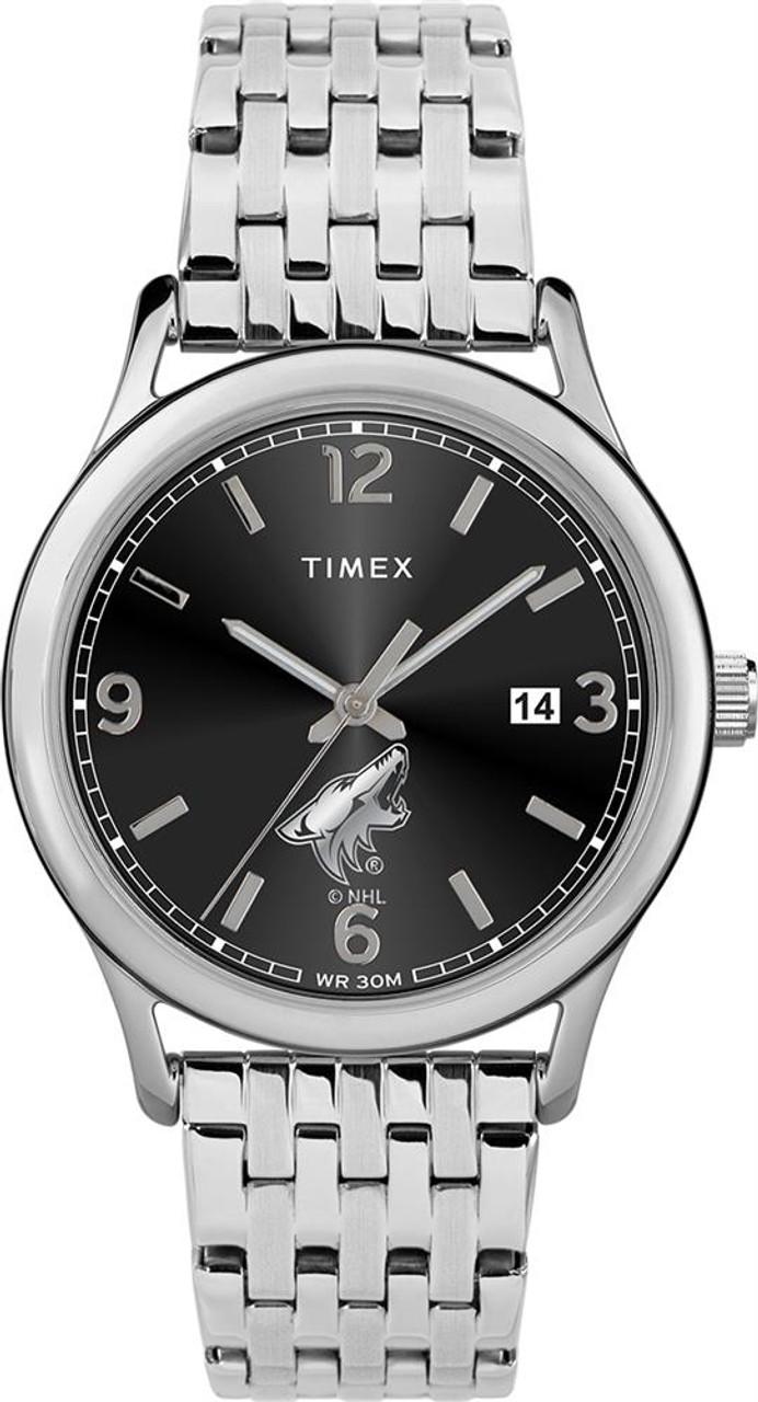 Women's Arizona Coyotes Watch Timex Sage Stainless Watch