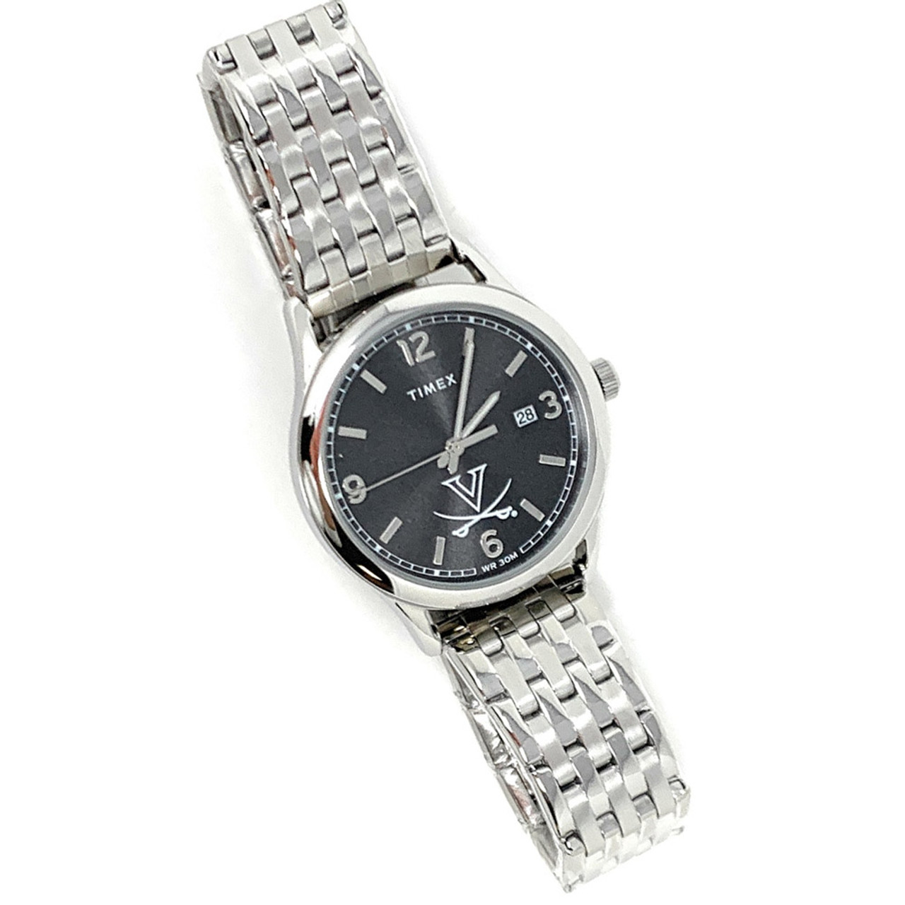 Women's Columbus Blue Jackets Watch Timex Sage Stainless Watch