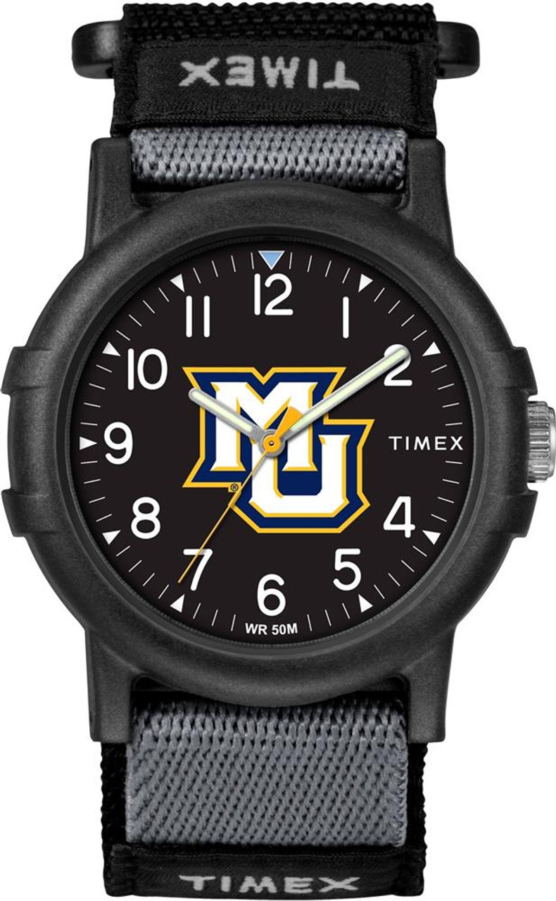 Marquette University Youth FastWrap Recruit Timex Watch