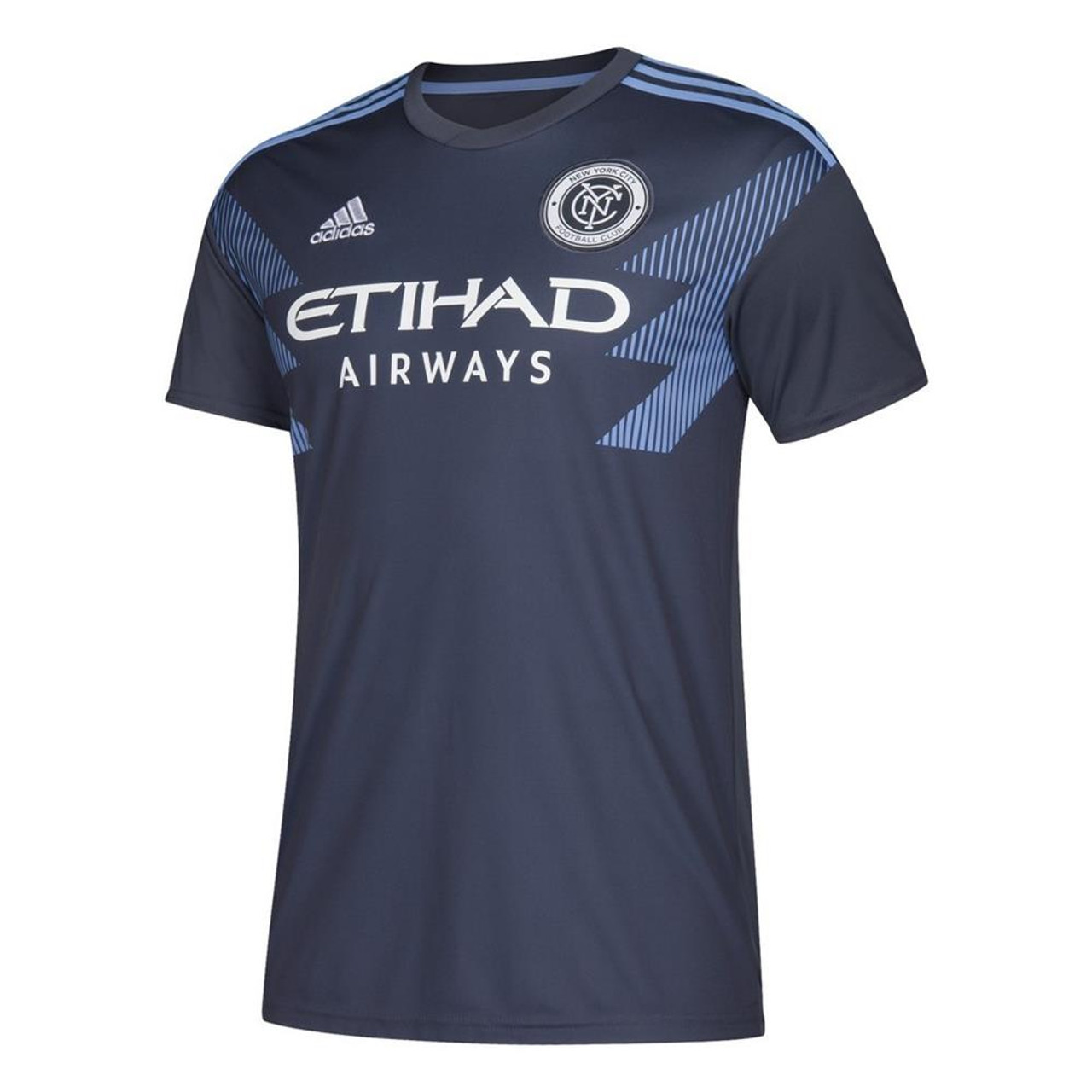 sale retailer 3591f bf07f Men's New York City FC Replica Jersey 2019 Adidas Away Kit
