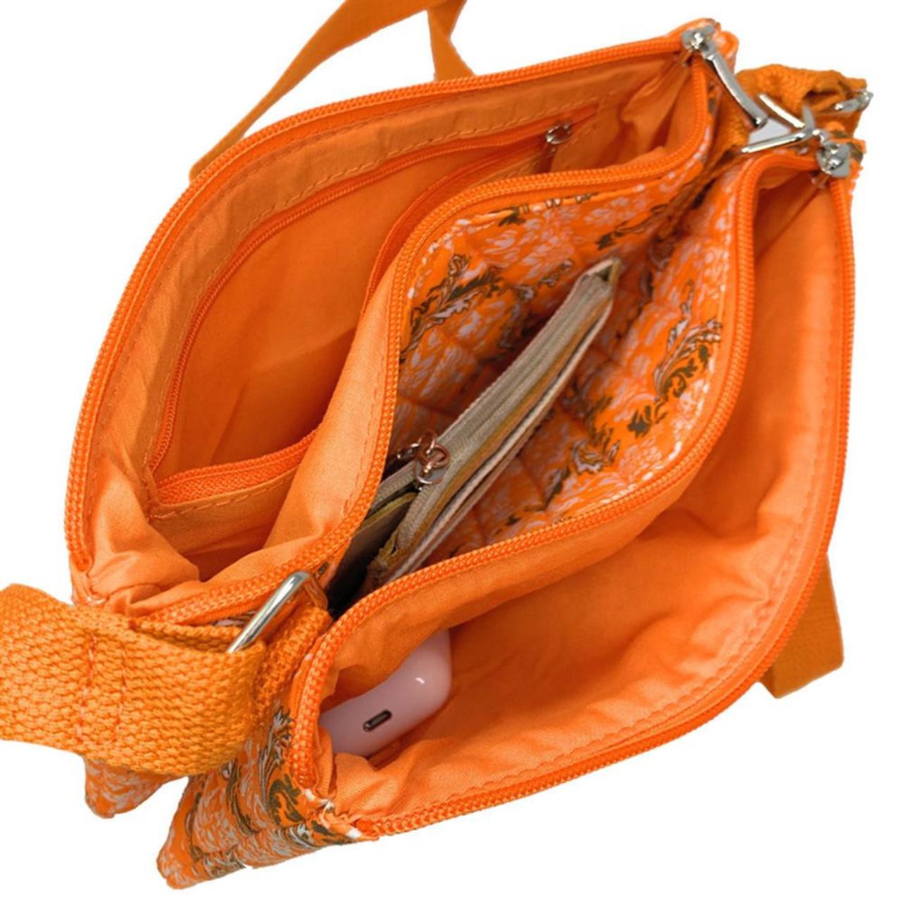 Missouri Tigers Mizzou Purse Bloom Quilted Crossbody Handbag