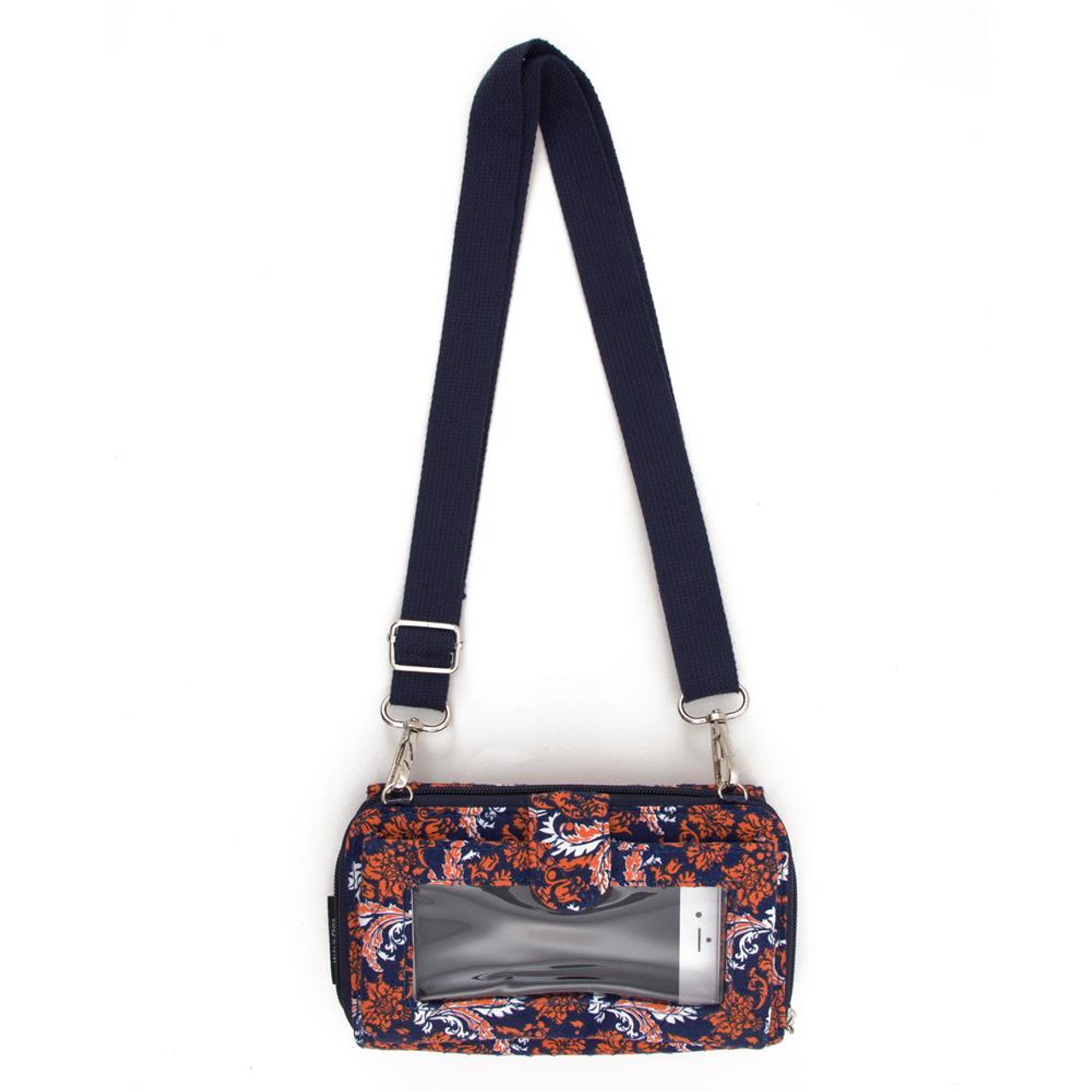 University of Illinois Wallet Quilted Mini Cross Body Purse