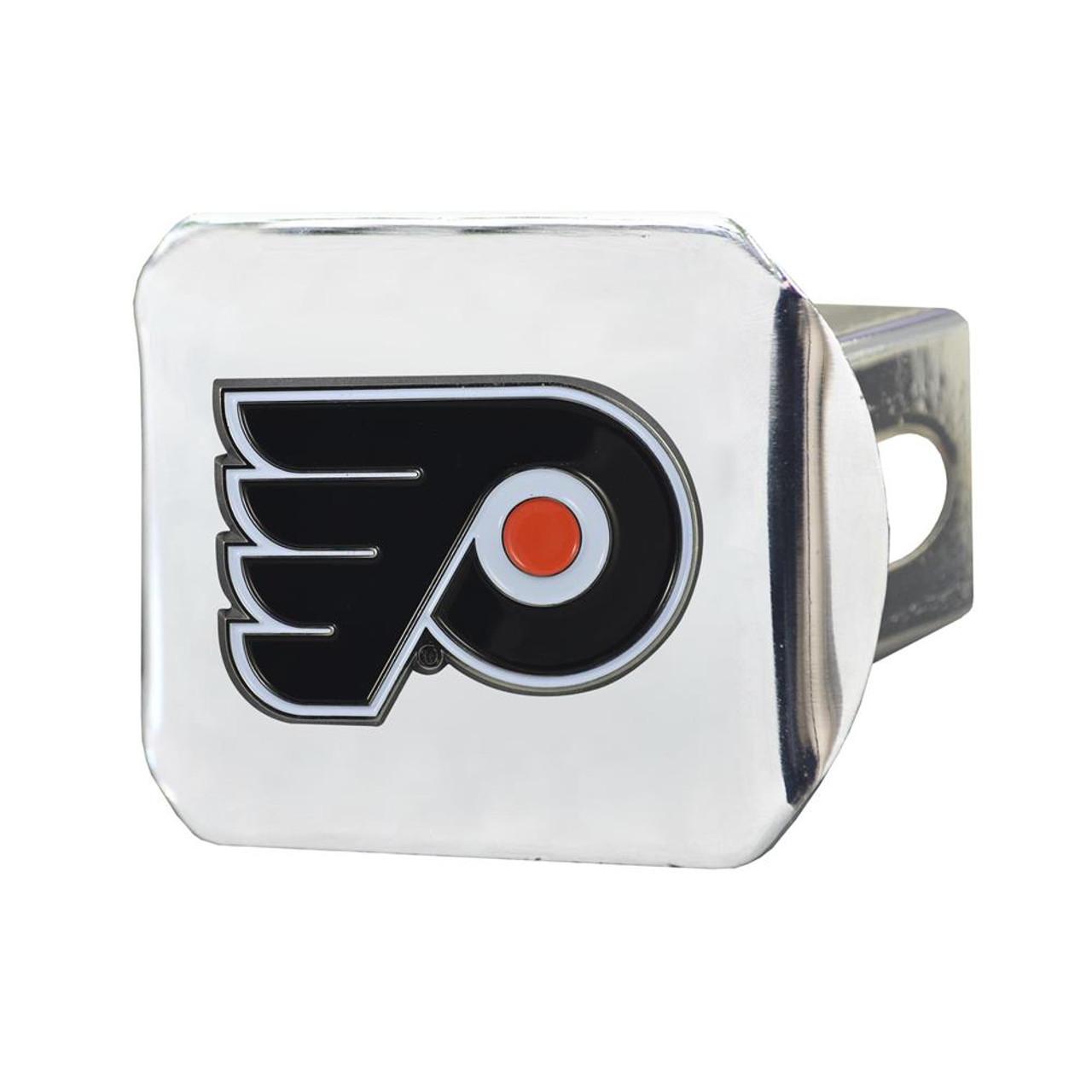 Philadelphia Flyers Trailer Hitch Chrome Hitch Cover