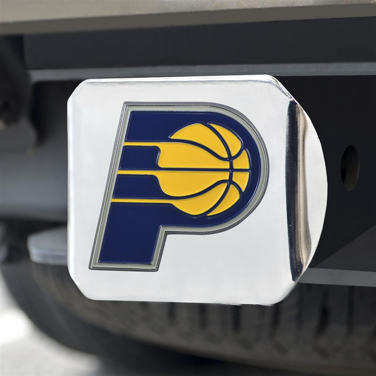 Indiana Pacers Trailer Hitch Chrome Hitch Cover