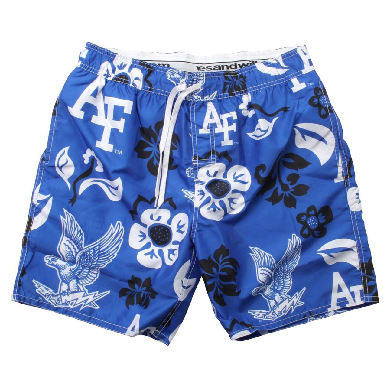 Men's Air Force Academy Falcons Swim Trunks Floral Swim Shorts