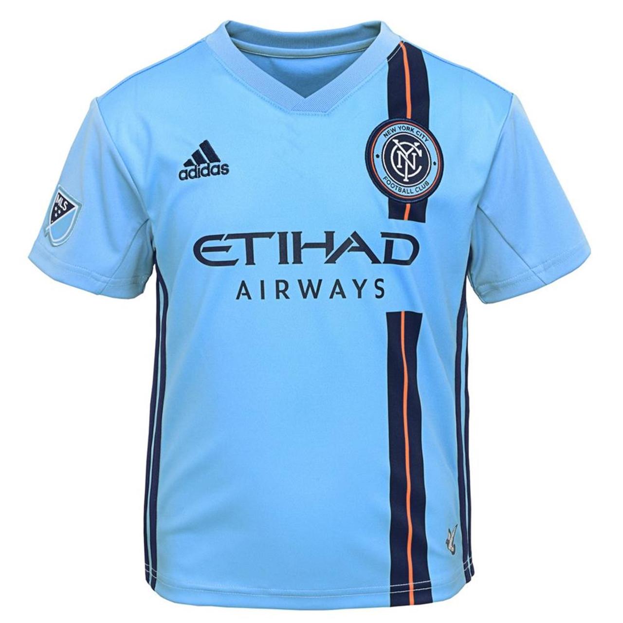best website 405da bb123 Toddler New York City FC Jersey Replica Infant Soccer Kit