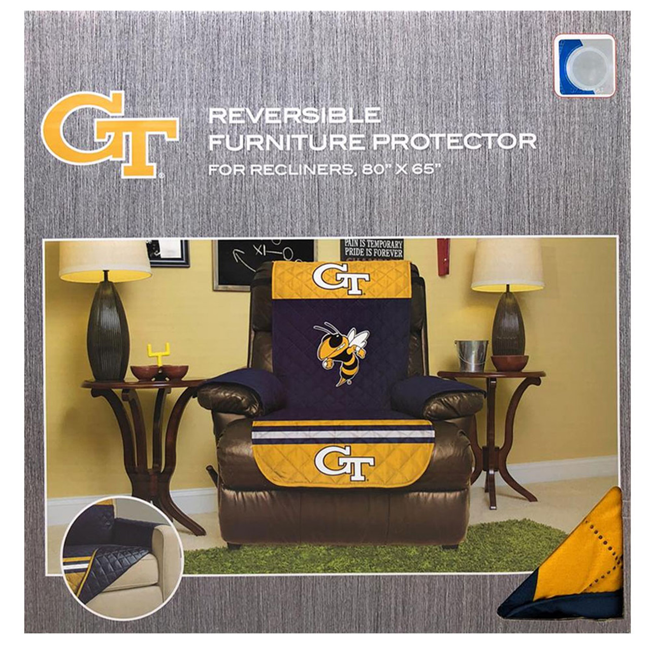 Los Angeles Clippers LA Recliner Cover Furniture Protector