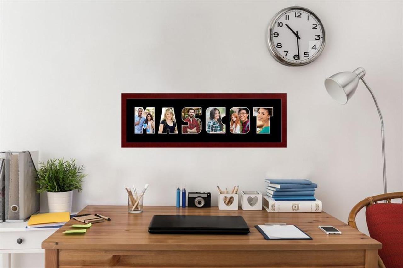 """Missouri Tigers Mizzou Collage Frame 8""""h x 26""""w Spirit Frame"""