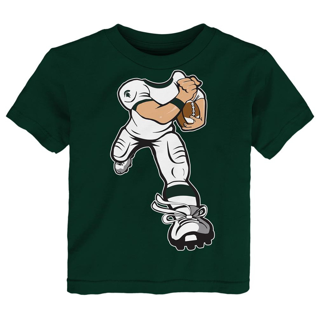 Toddler Michigan State University Tee Yard Rush Toddler T-Shirt