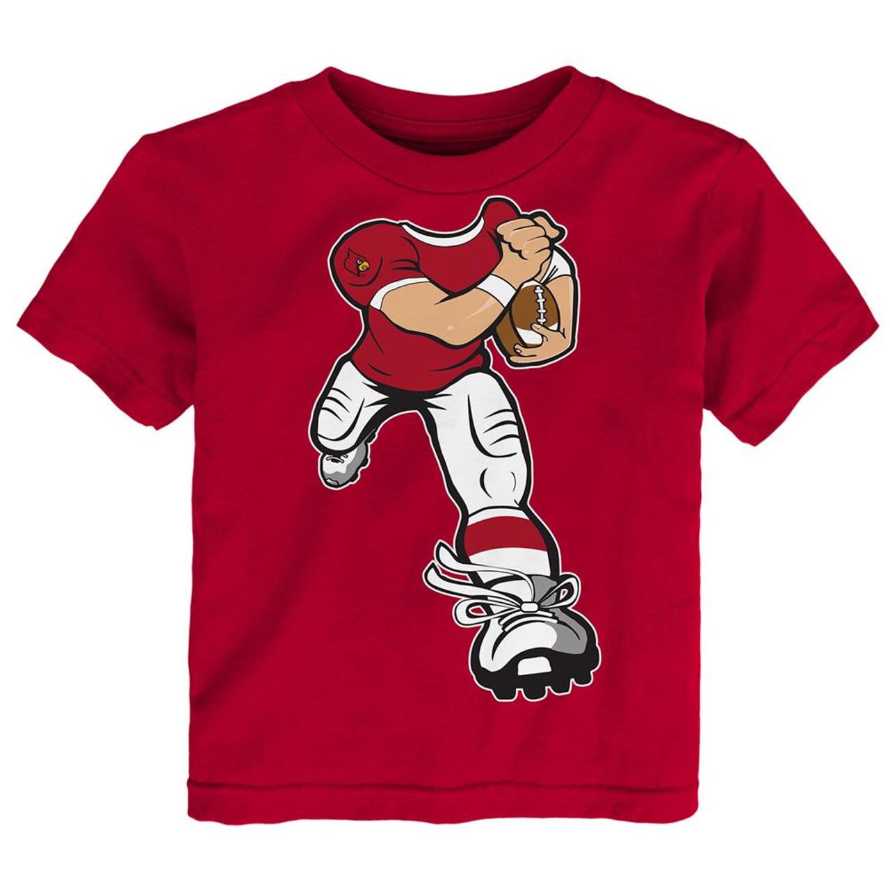 Toddler Louisville Cardinals Tee Yard Rush Toddler T-Shirt