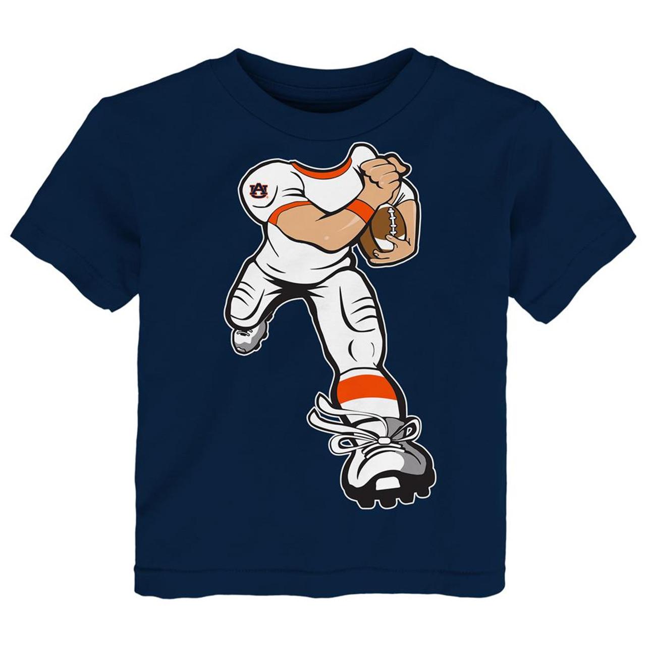 Toddler Auburn University Tigers Tee Yard Rush Toddler T-Shirt