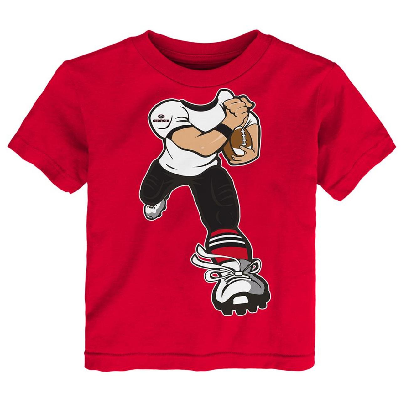 Toddler Georgia Bulldogs UGA Tee Yard Rush Toddler T-Shirt